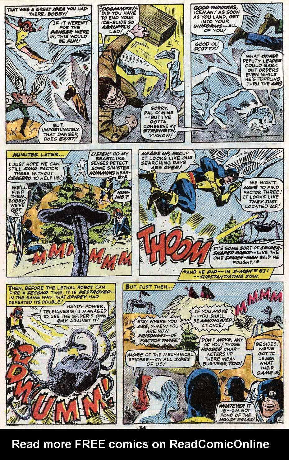 Read online Uncanny X-Men (1963) comic -  Issue #85 - 16