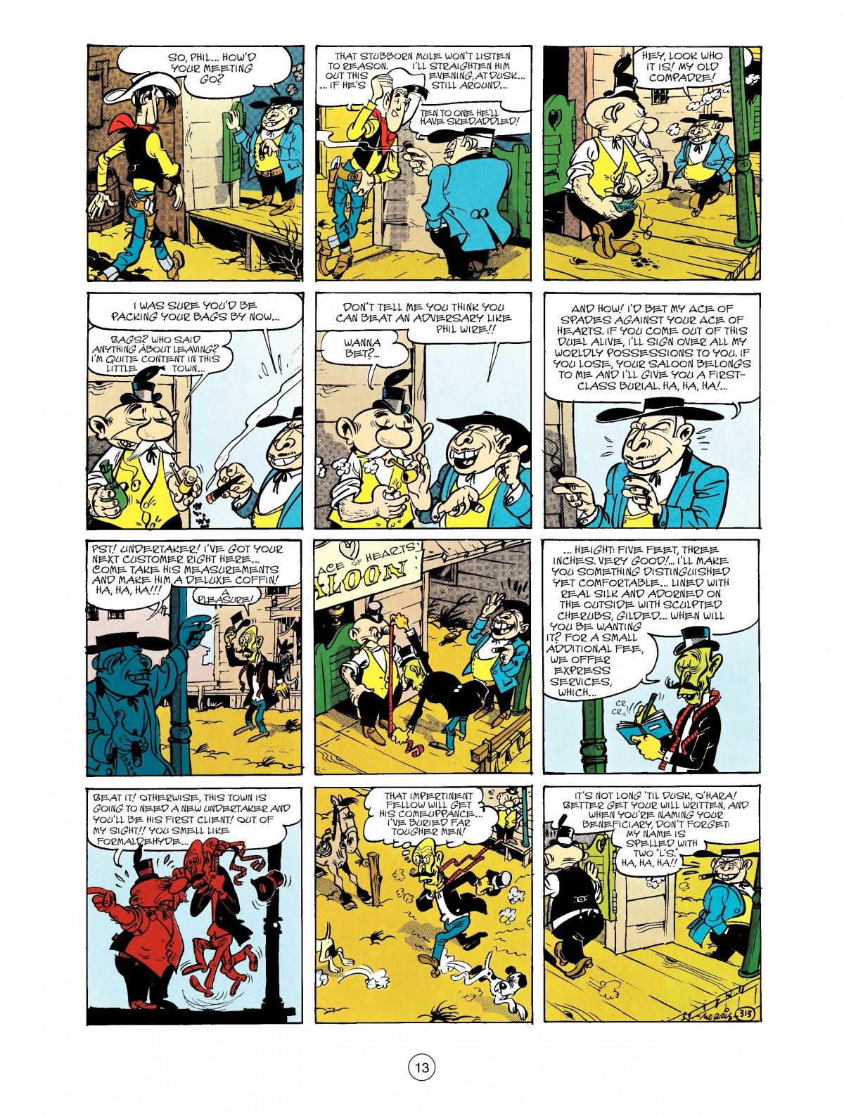 Read online A Lucky Luke Adventure comic -  Issue #40 - 13