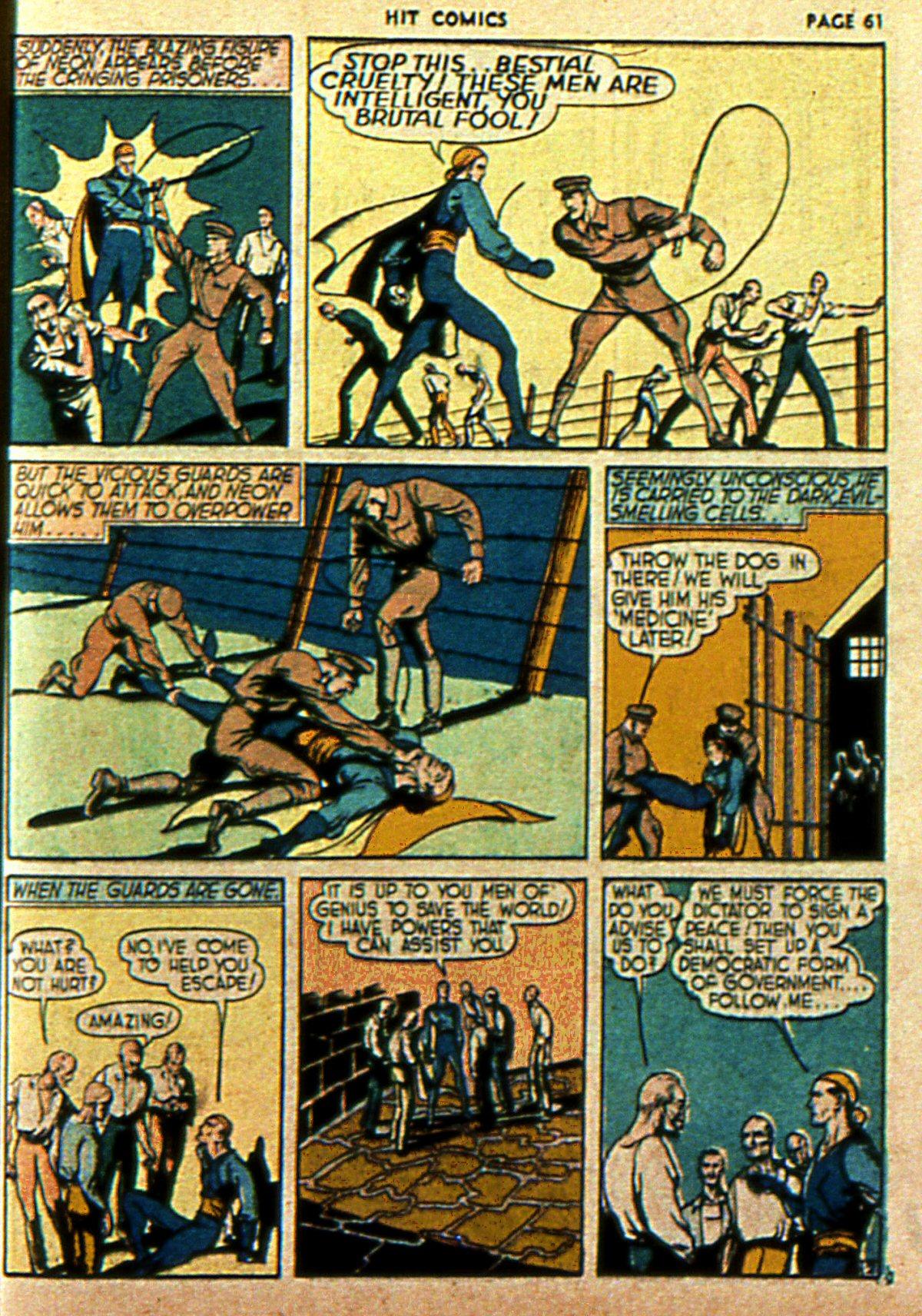 Read online Hit Comics comic -  Issue #2 - 63