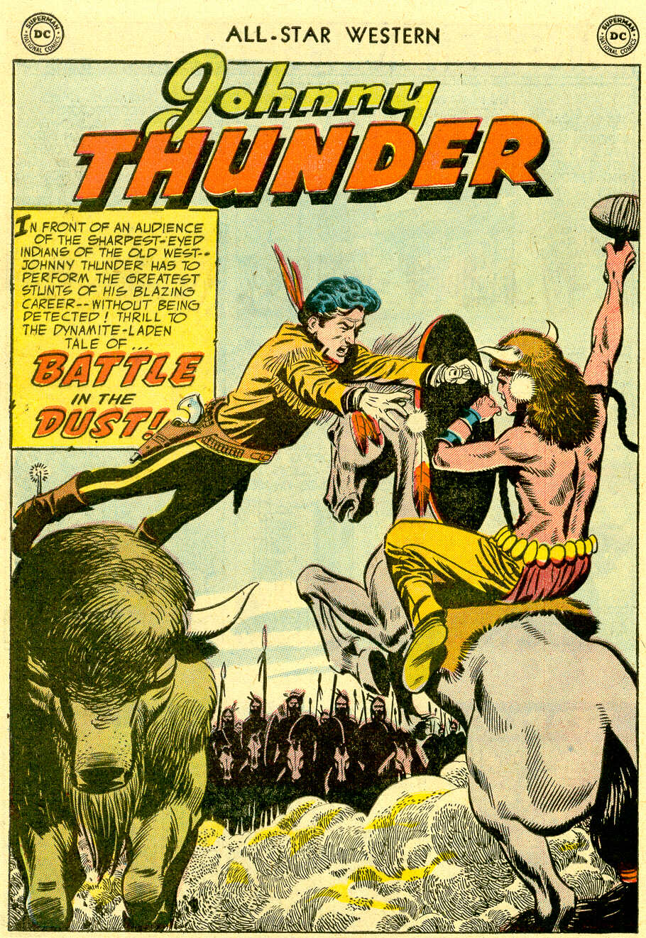 Read online All-Star Western (1951) comic -  Issue #83 - 28