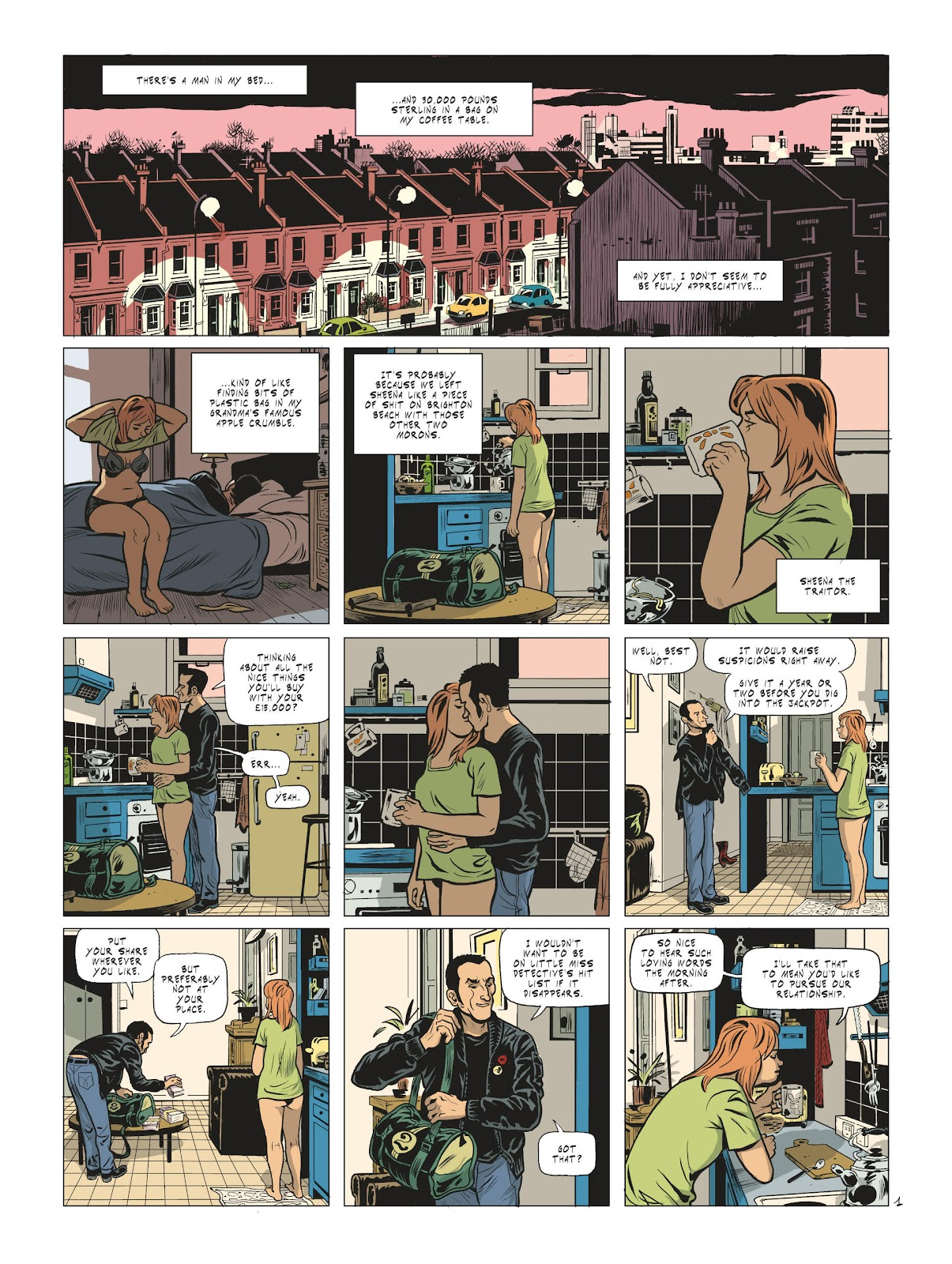 Read online Maggy Garrisson comic -  Issue #2 - 3