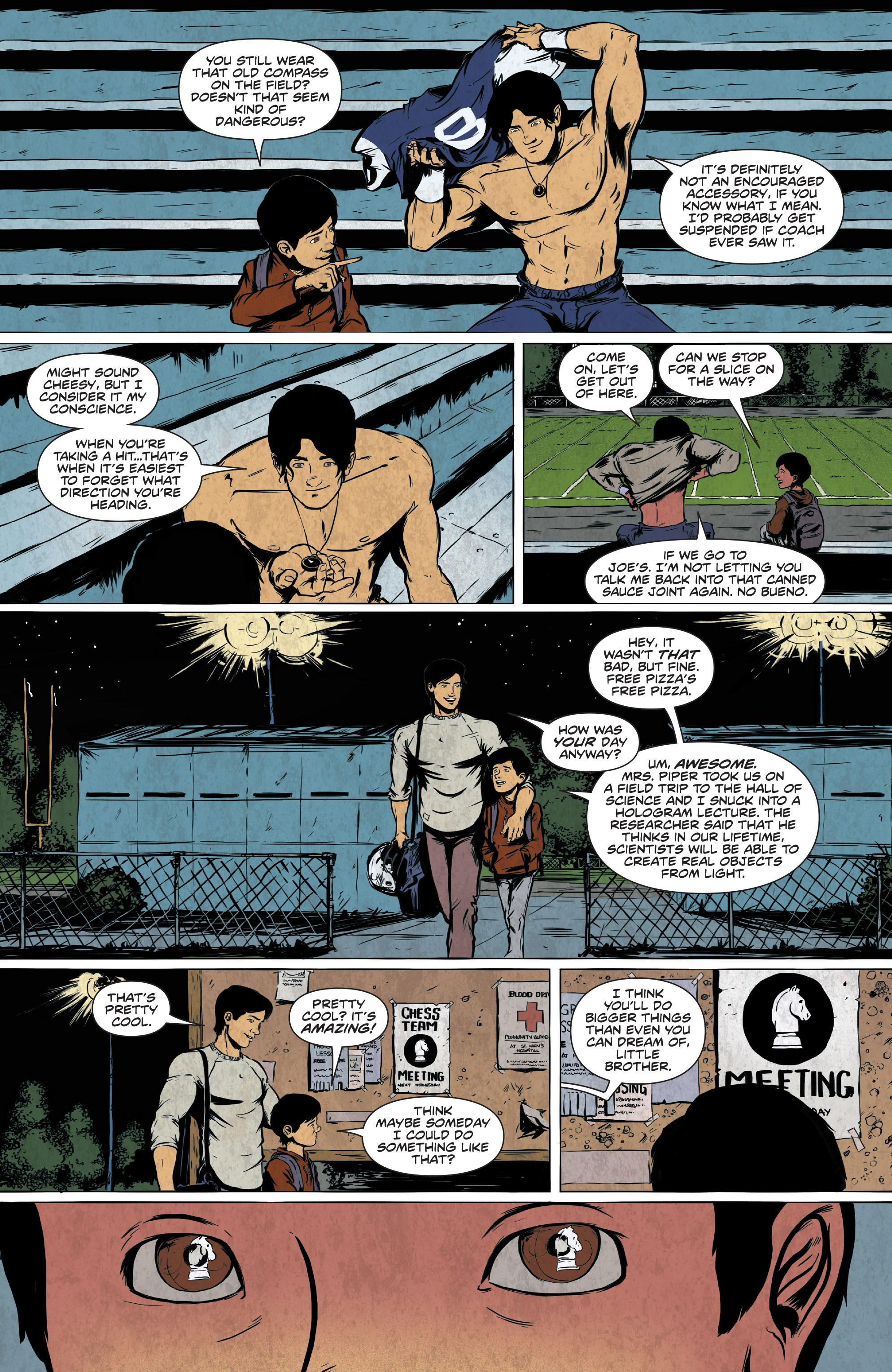 Read online Translucid comic -  Issue #2 - 9