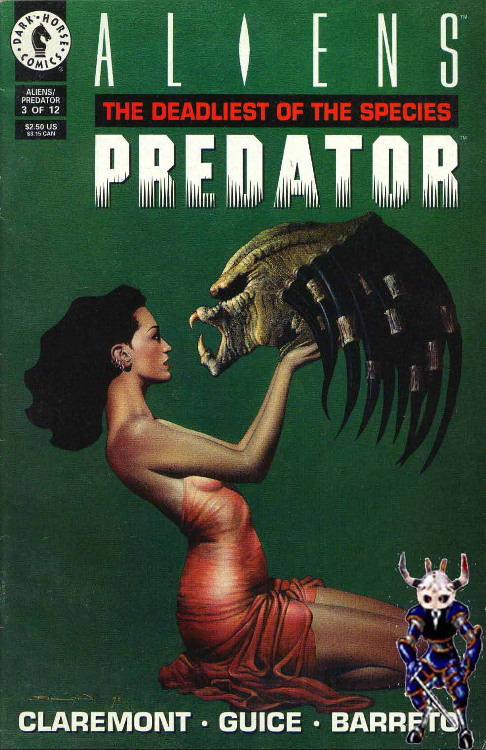 Read online Aliens/Predator: The Deadliest of the Species comic -  Issue #3 - 1