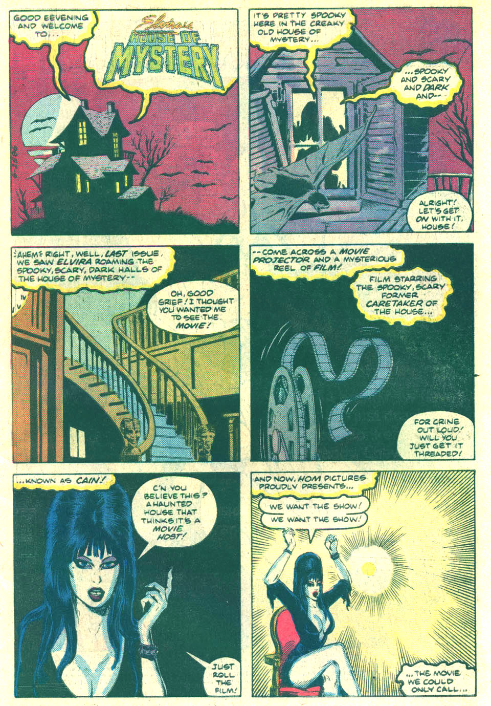 Elvira's House of Mystery Issue #10 #11 - English 2