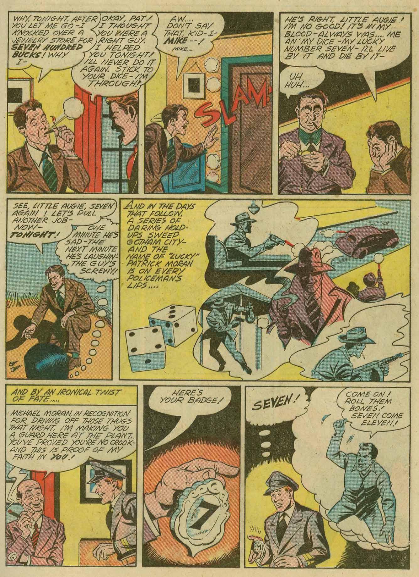 Read online Sensation (Mystery) Comics comic -  Issue #28 - 38
