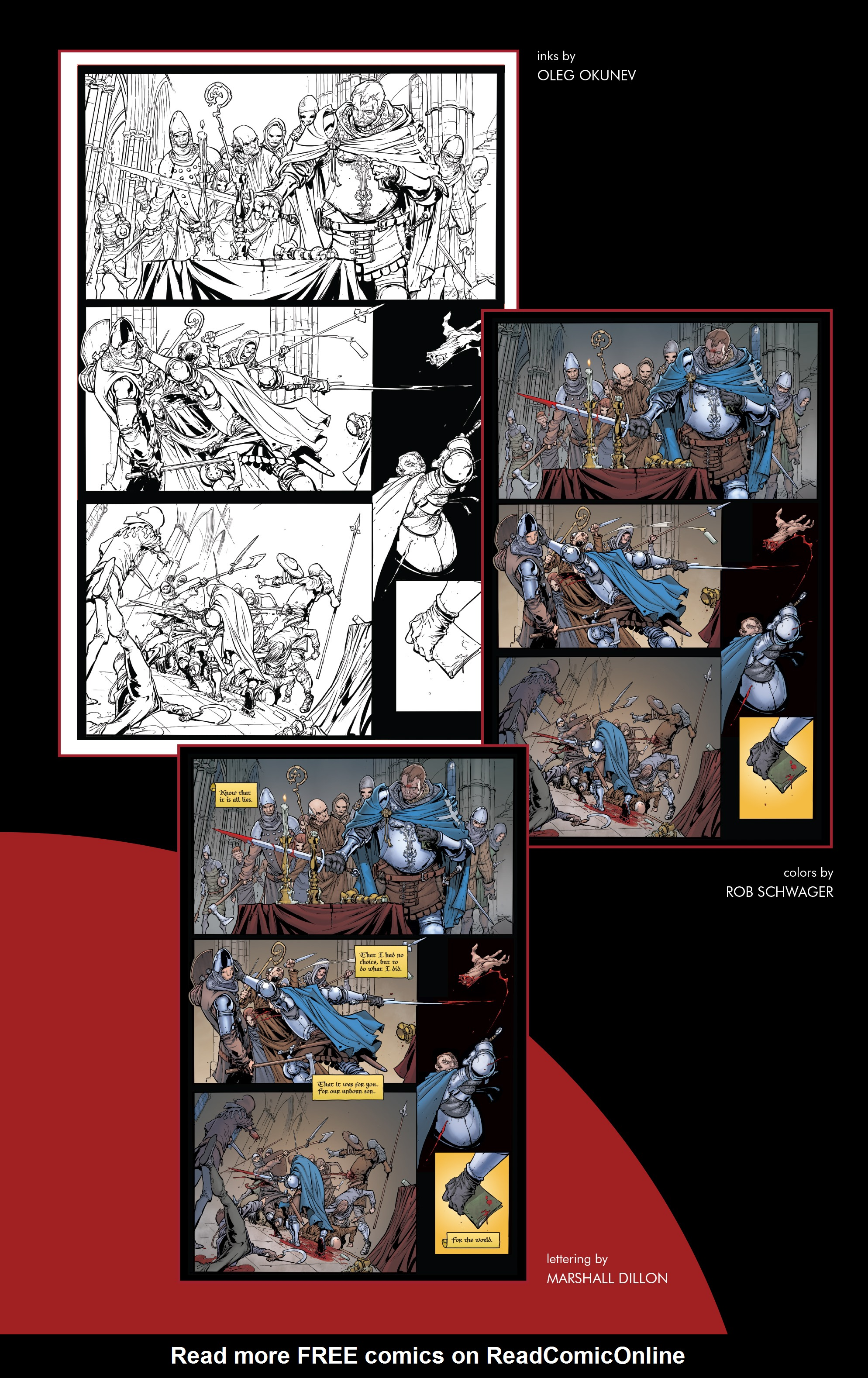 Read online Pestilence comic -  Issue #1 - 26