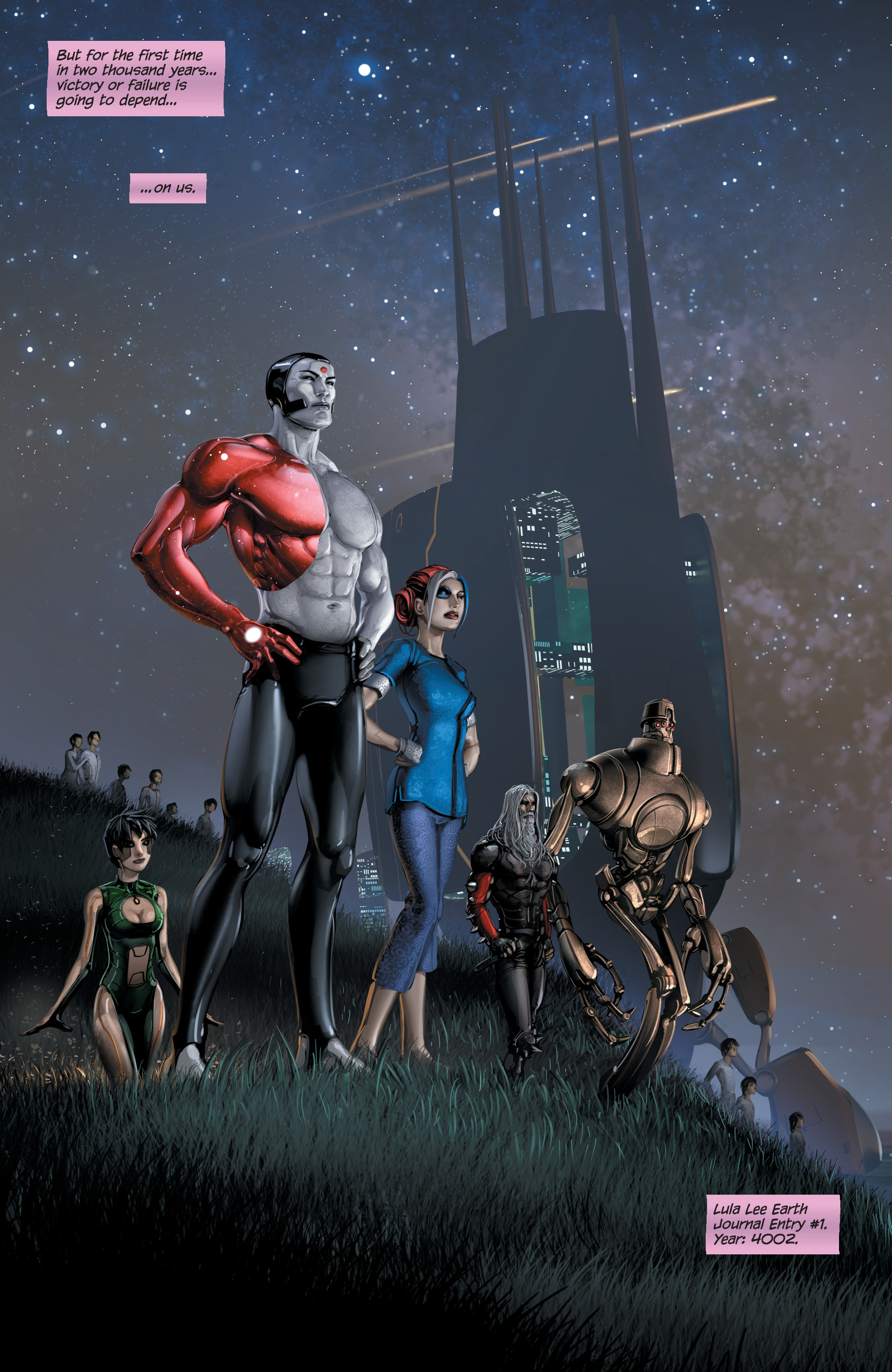 Read online 4001 A.D. comic -  Issue #4 - 22