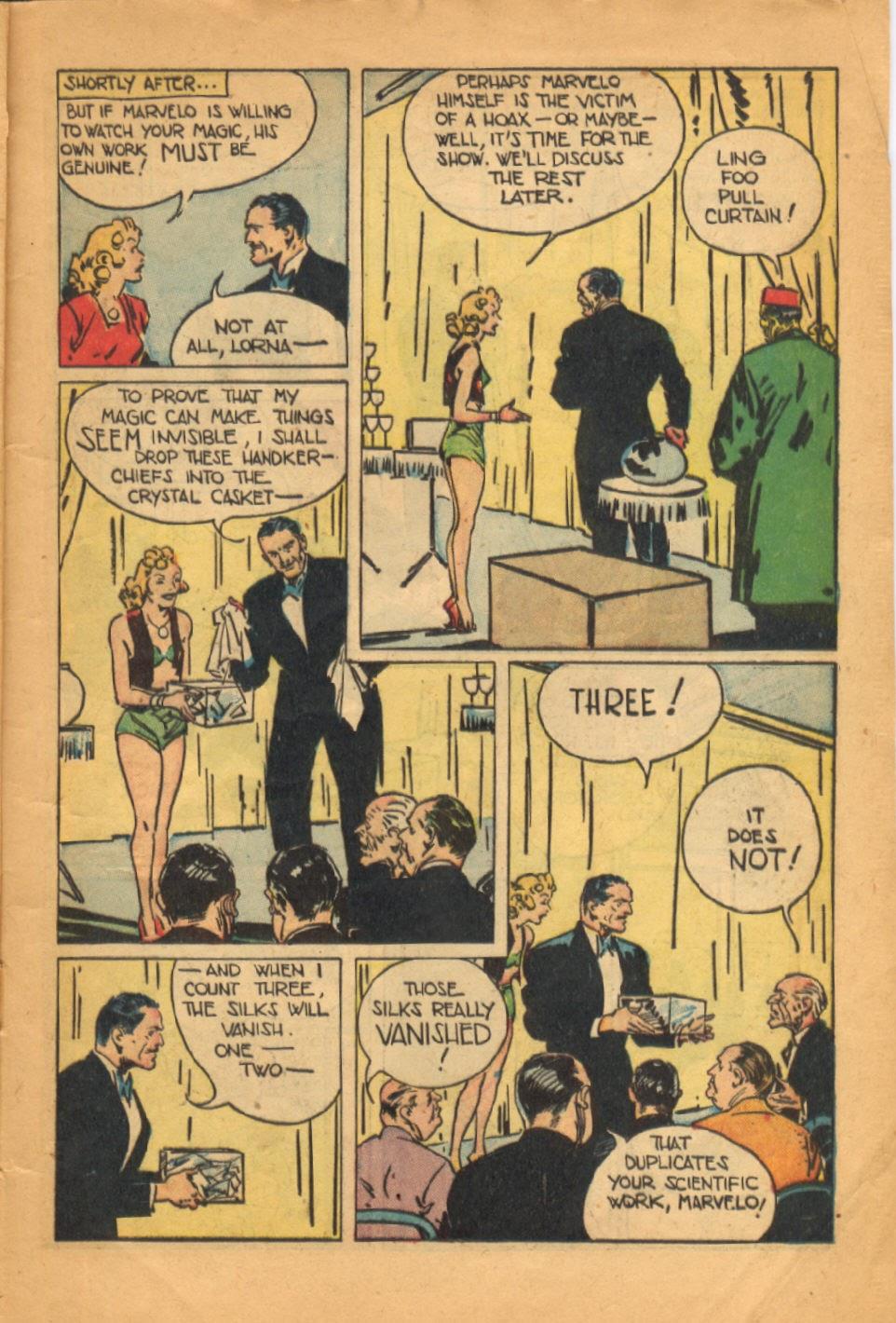 Read online Super-Magician Comics comic -  Issue #52 - 12