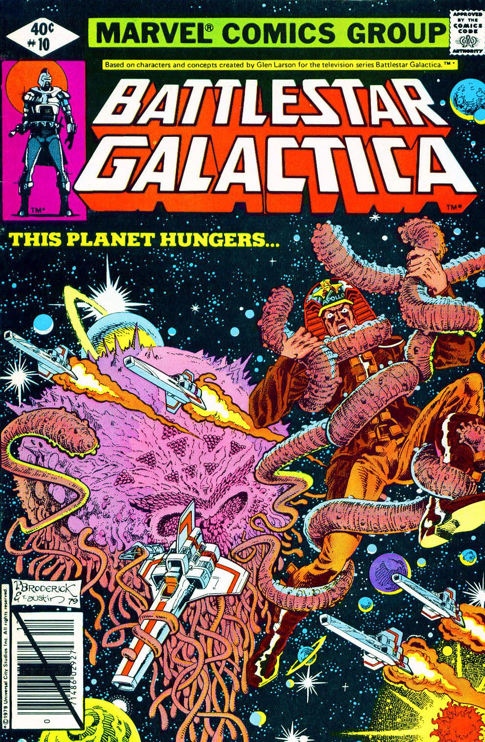 Battlestar Galactica 10 Page 1