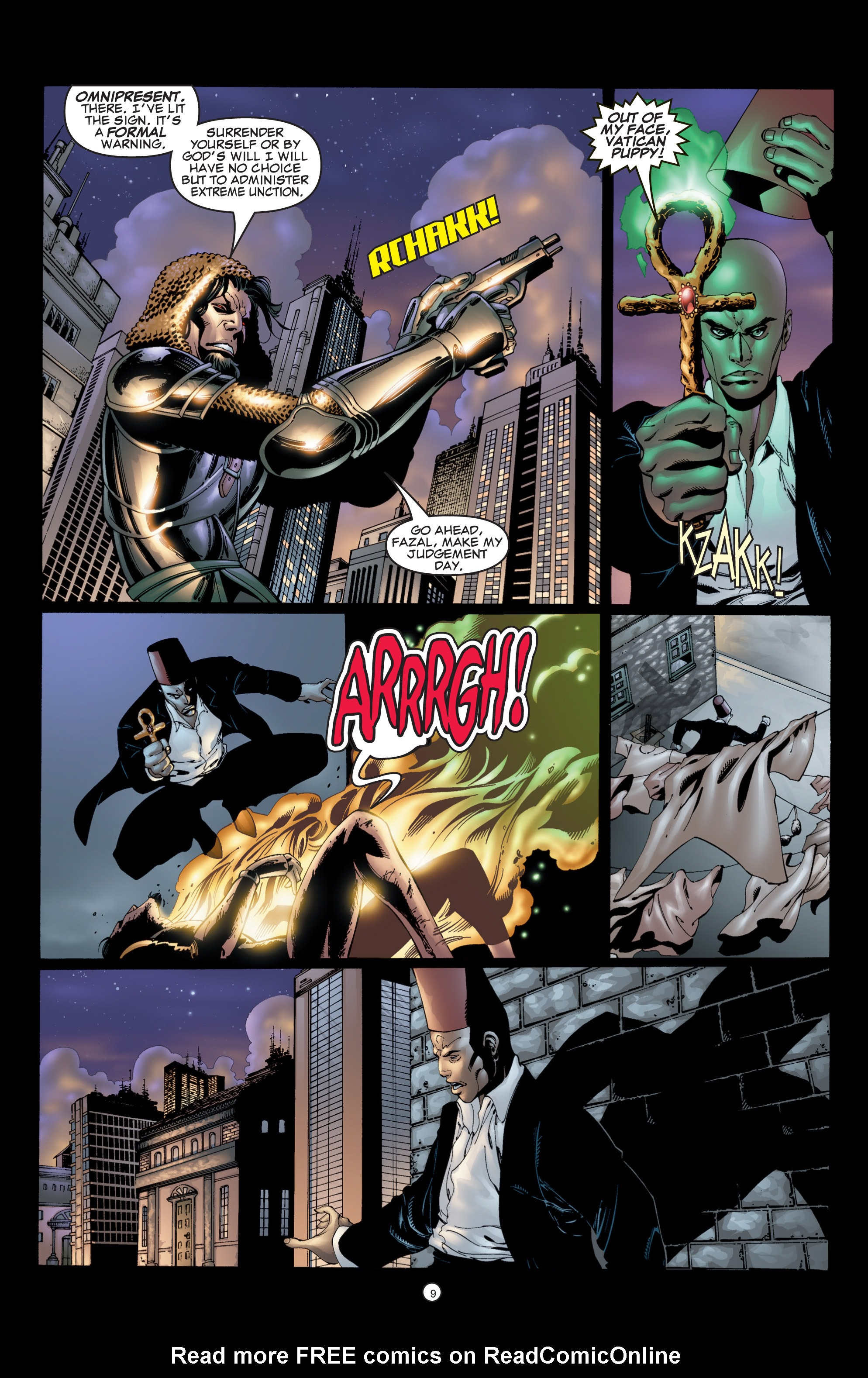 Read online Shadowman (1999) comic -  Issue #6 - 11