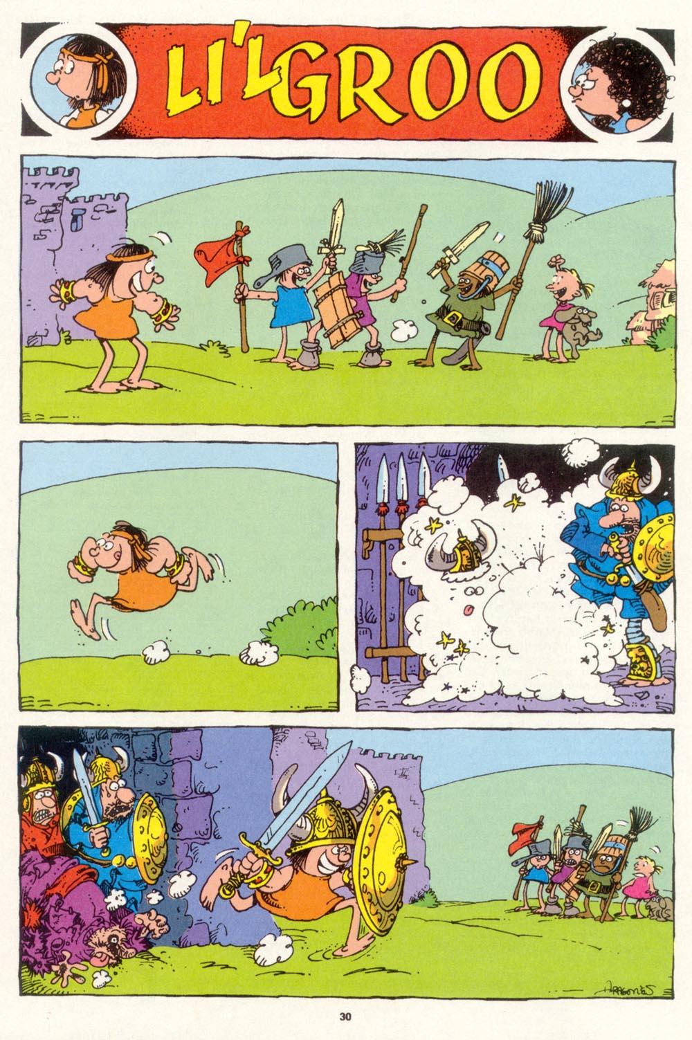 Read online Sergio Aragonés Groo the Wanderer comic -  Issue #99 - 31