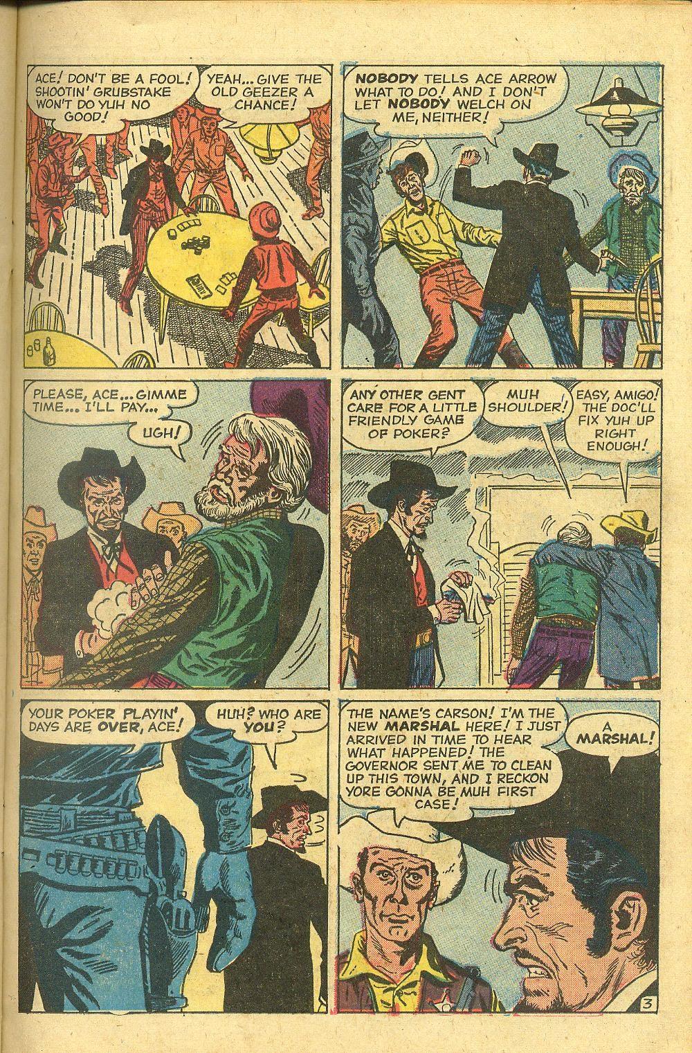 Gunsmoke Western issue 58 - Page 23