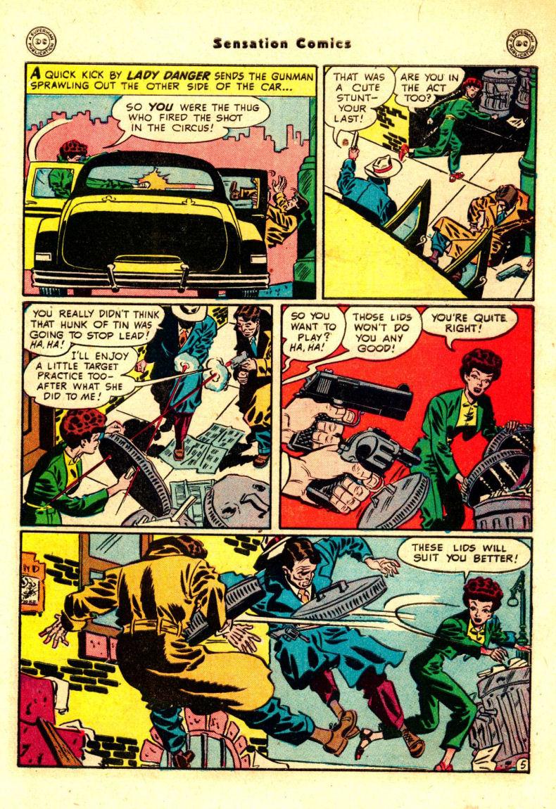Read online Sensation (Mystery) Comics comic -  Issue #88 - 44