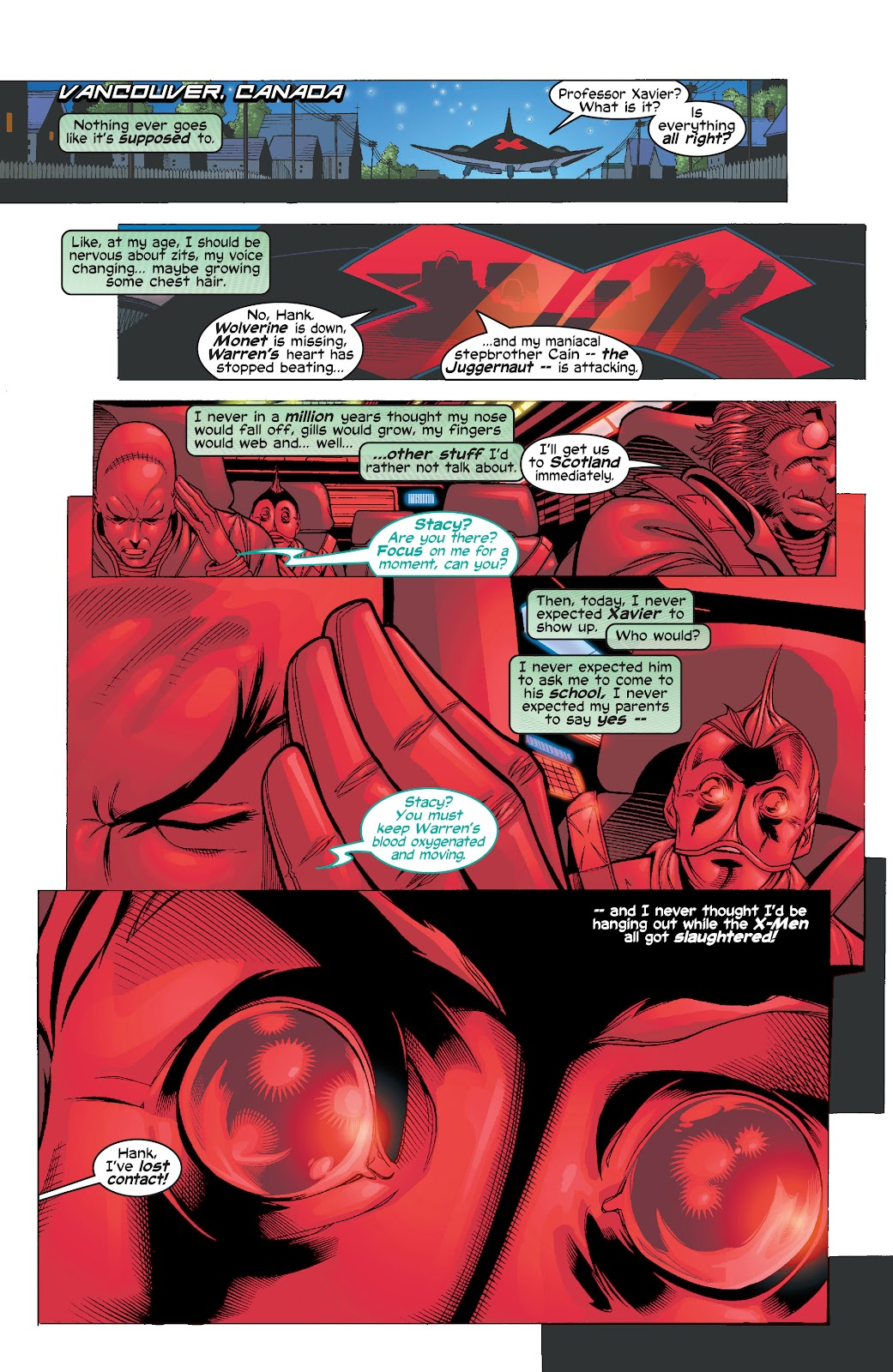 Read online X-Men: Unstoppable comic -  Issue # TPB (Part 1) - 28