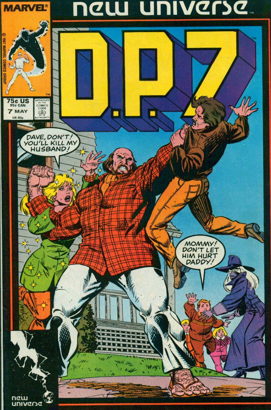 Read online DP7 comic -  Issue #7 - 1