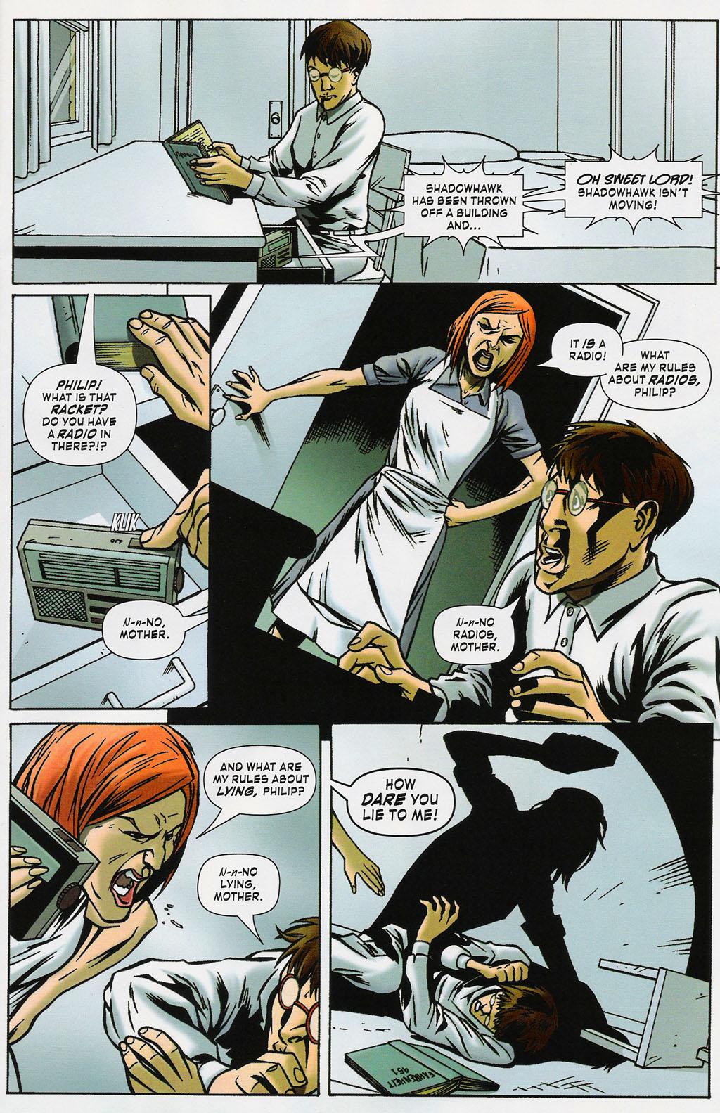 Read online ShadowHawk (2005) comic -  Issue #4 - 13