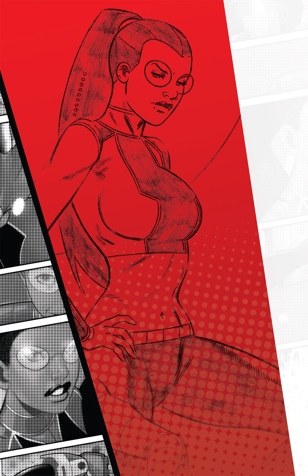 Read online The Many Adventures of Miranda Mercury: Time Runs Out comic -  Issue # TPB - 169