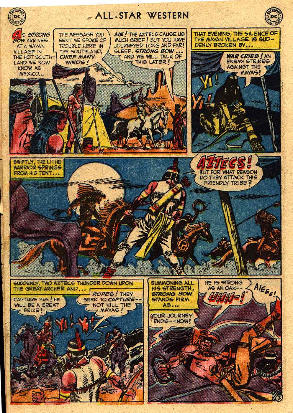 Read online All-Star Western (1951) comic -  Issue #62 - 4