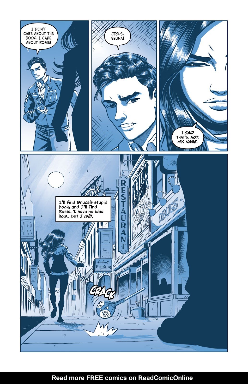 Read online Under the Moon: A Catwoman Tale comic -  Issue # TPB (Part 2) - 67