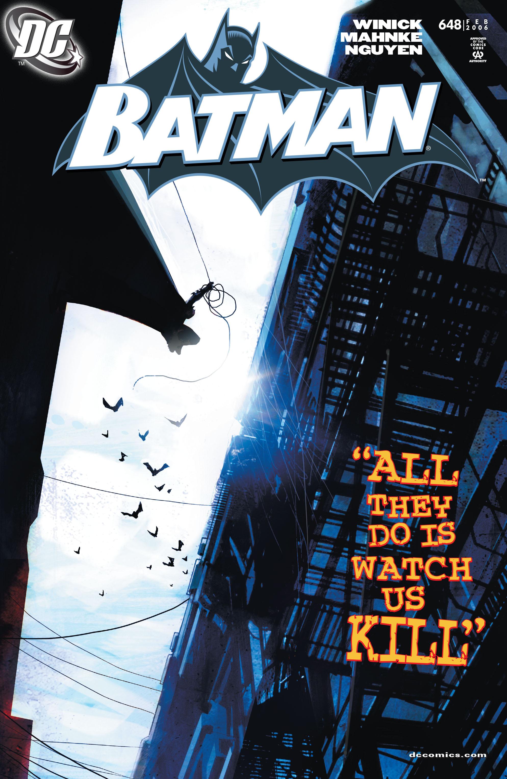 Batman (1940) 648 Page 1
