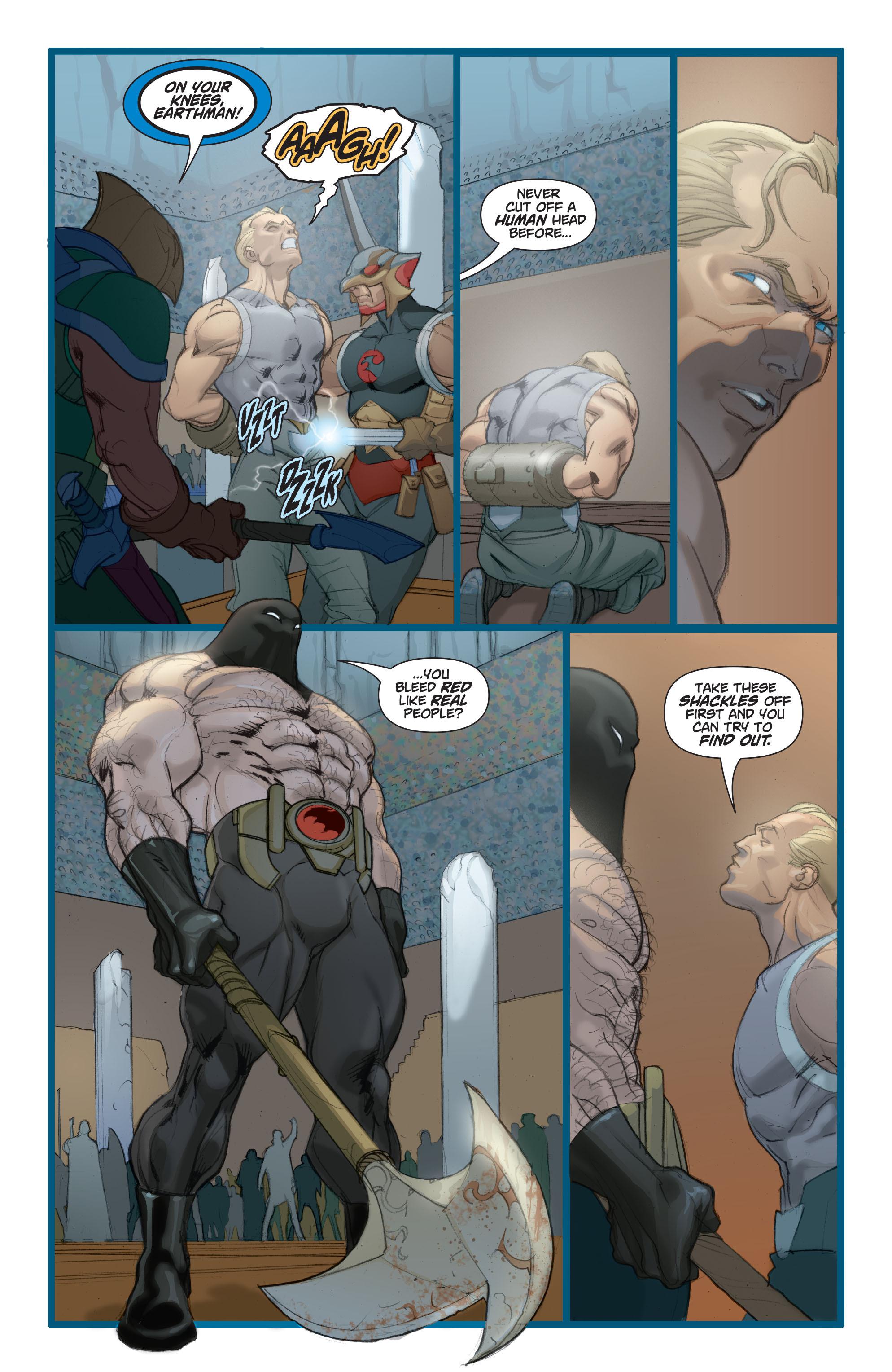 Read online Adam Strange (2004) comic -  Issue #3 - 22