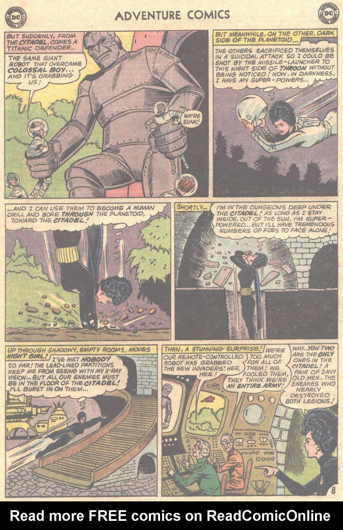 Read online Adventure Comics (1938) comic -  Issue #319 - 21