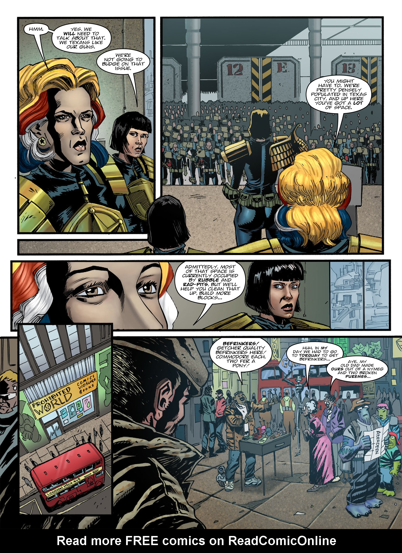 Read online 2000 AD comic -  Issue #1981 - 6