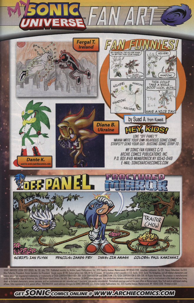 Read online Sonic Universe comic -  Issue #28 - 33