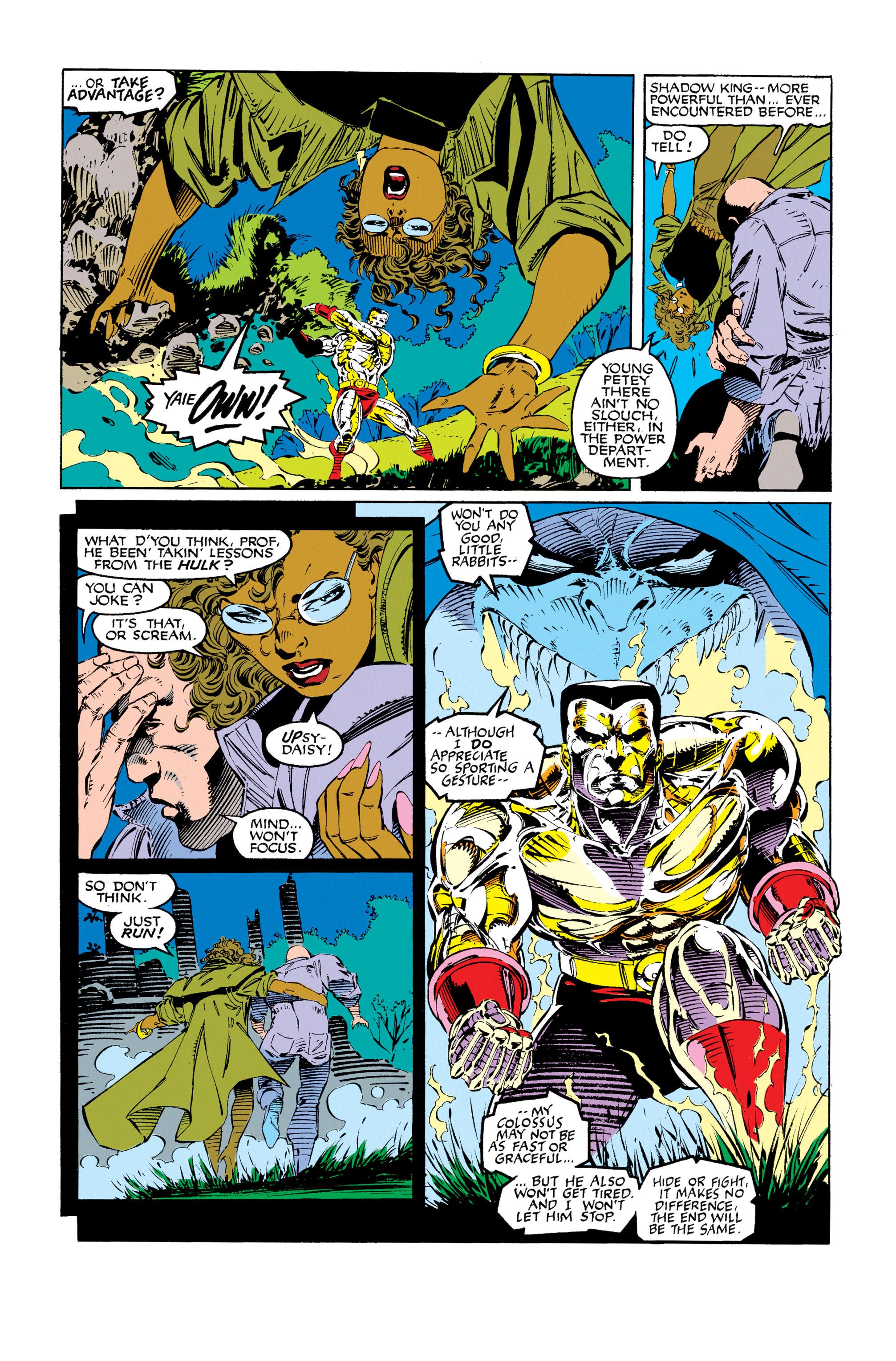 Read online Uncanny X-Men (1963) comic -  Issue #279 - 4