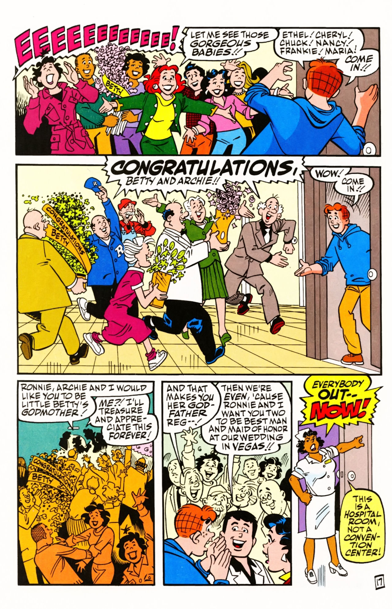 Read online Archie (1960) comic -  Issue #605 - 24