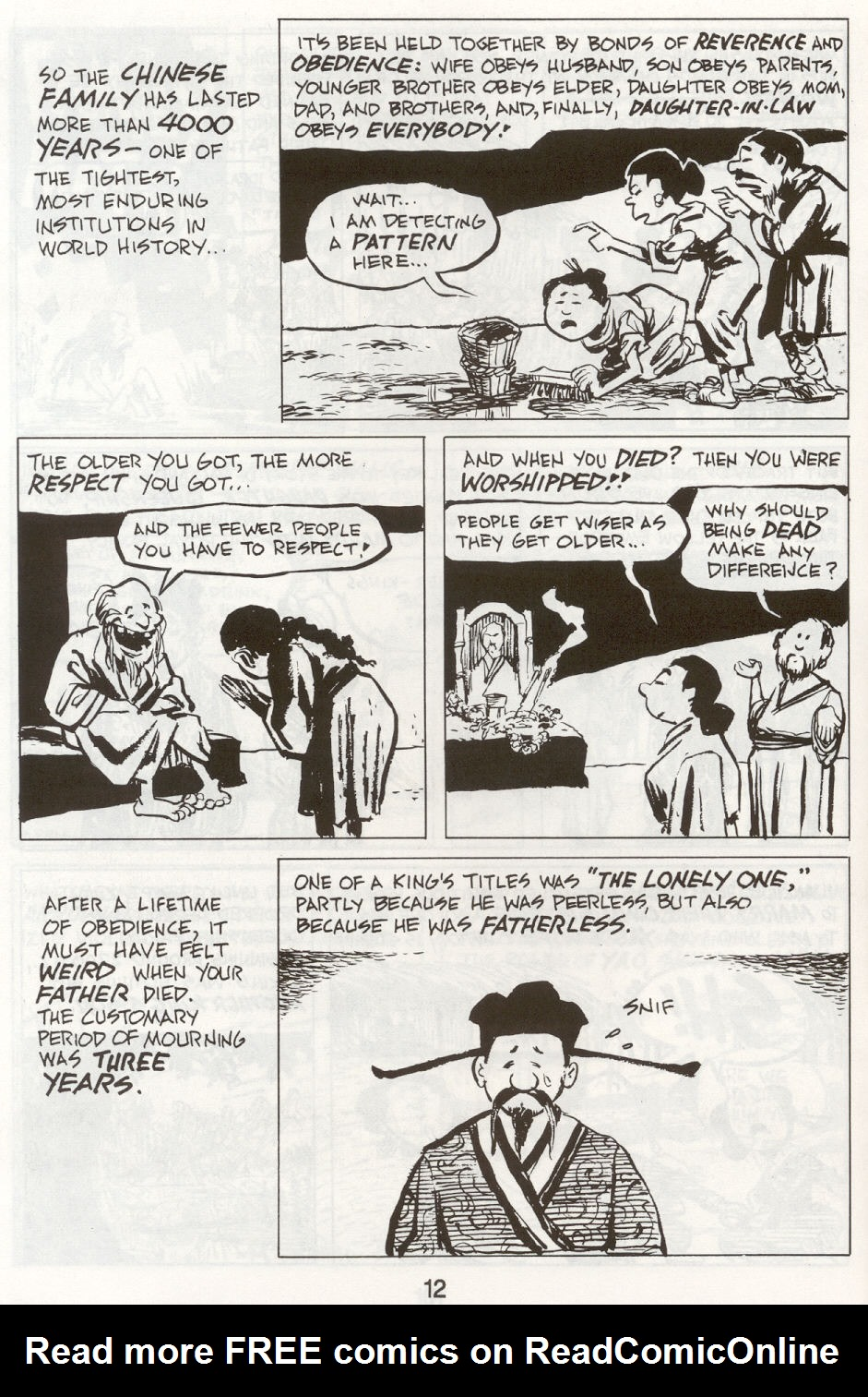 Read online The Cartoon History of the Universe comic -  Issue #9 - 15