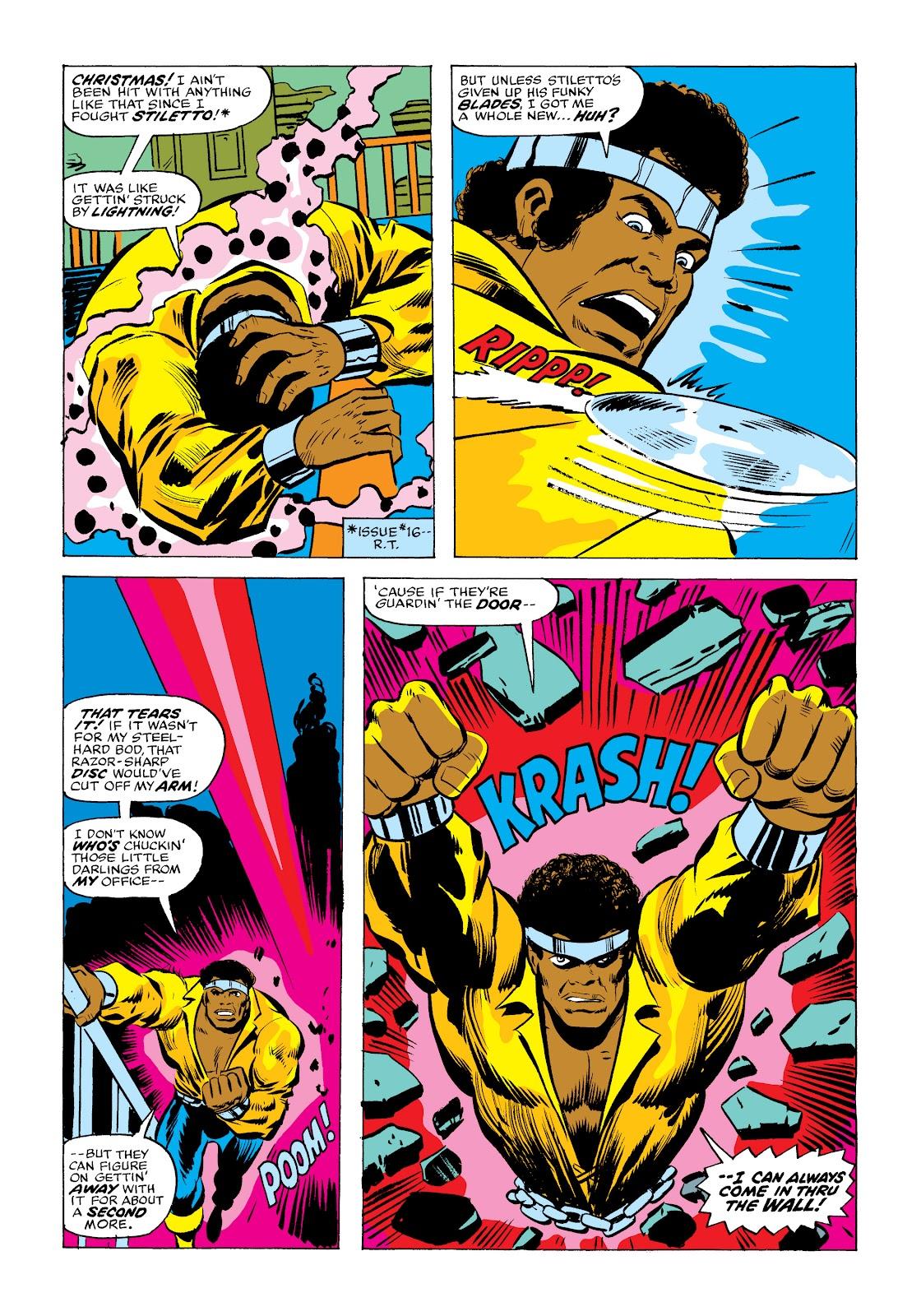 Read online Marvel Masterworks: Luke Cage, Power Man comic -  Issue # TPB 2 (Part 2) - 11