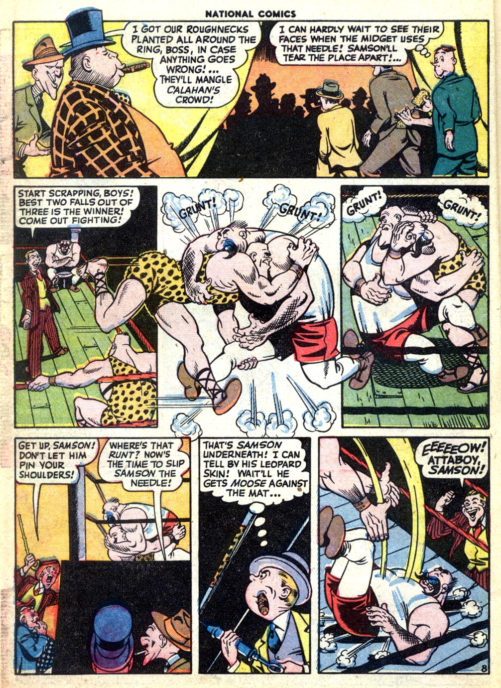 National Comics (1940) issue 47 - Page 10
