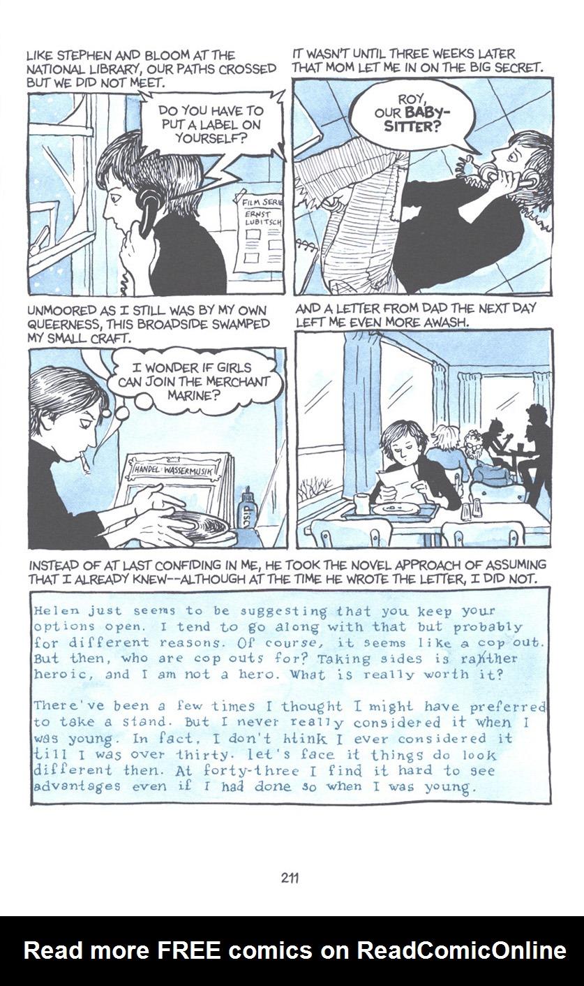 Read online Fun Home: A Family Tragicomic comic -  Issue # TPB - 217