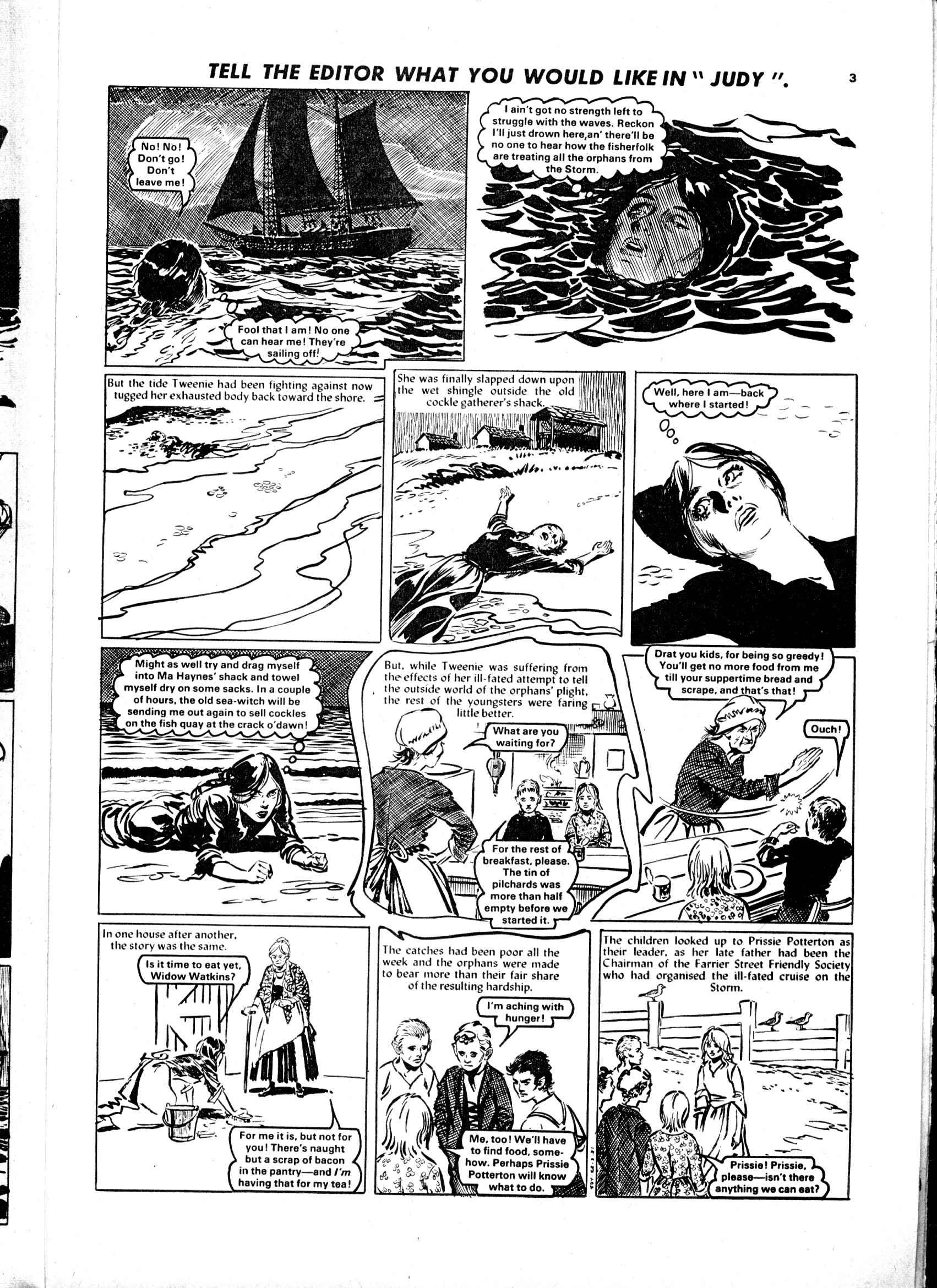 Read online Judy comic -  Issue #1107 - 3