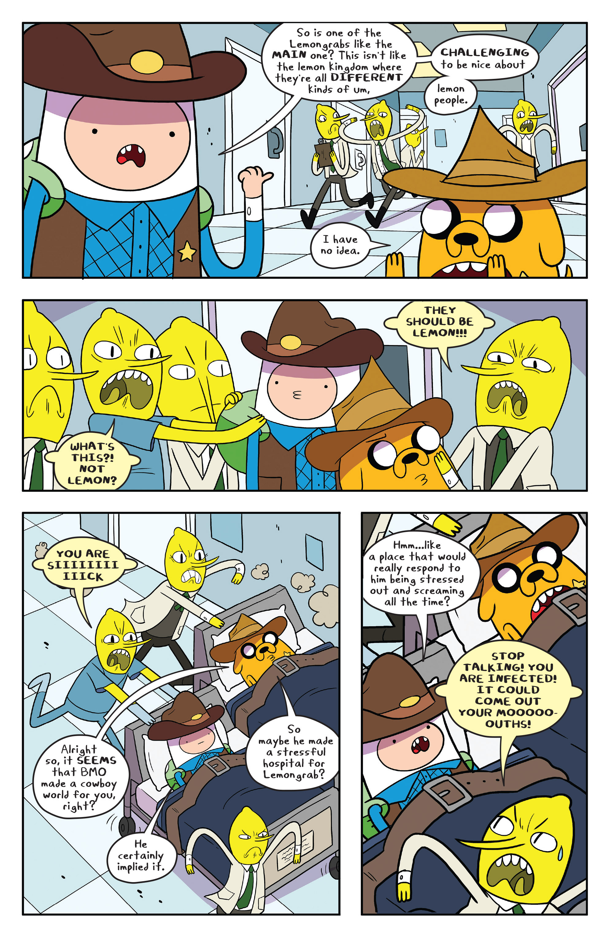 Read online Adventure Time comic -  Issue #55 - 11