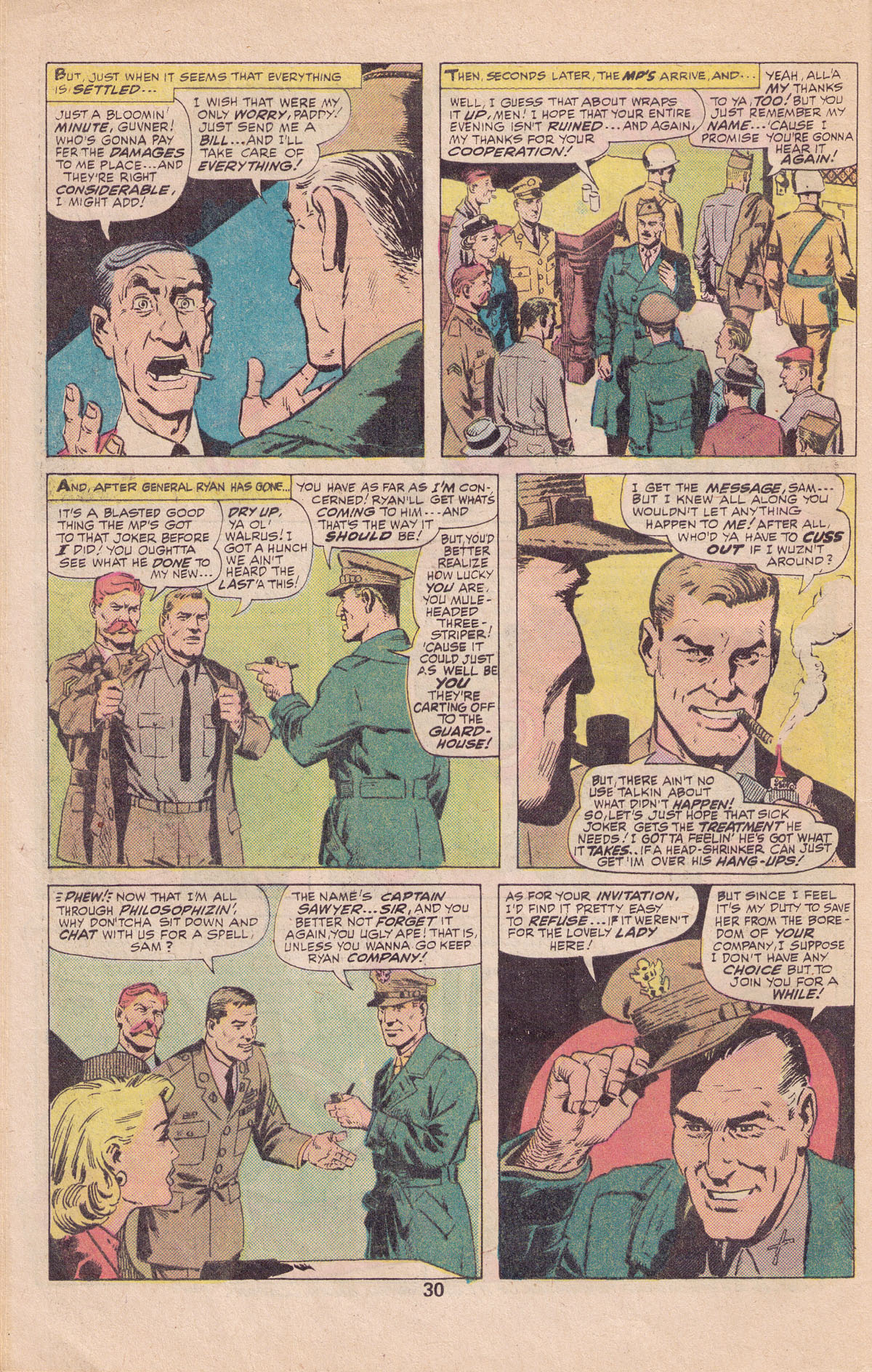 Read online Sgt. Fury comic -  Issue #140 - 32