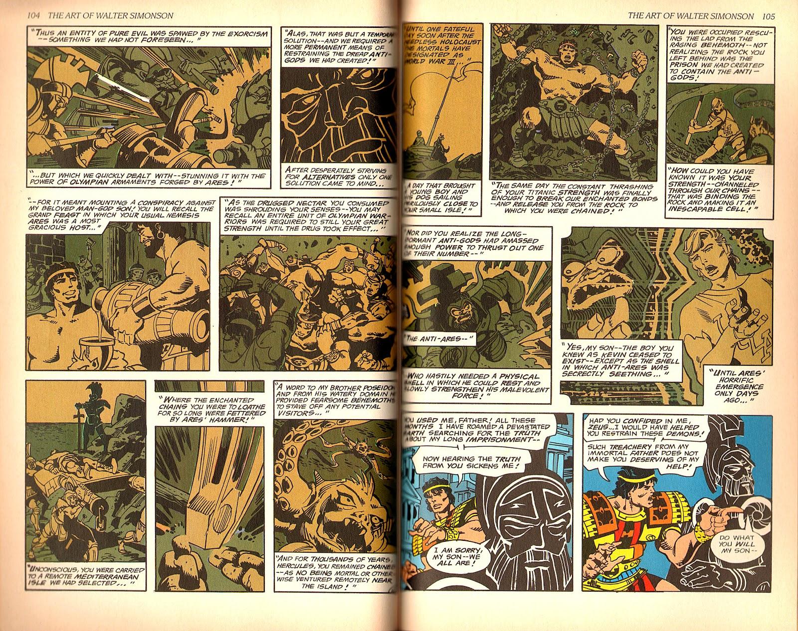 Read online The Art of Walter Simonson comic -  Issue # TPB - 54