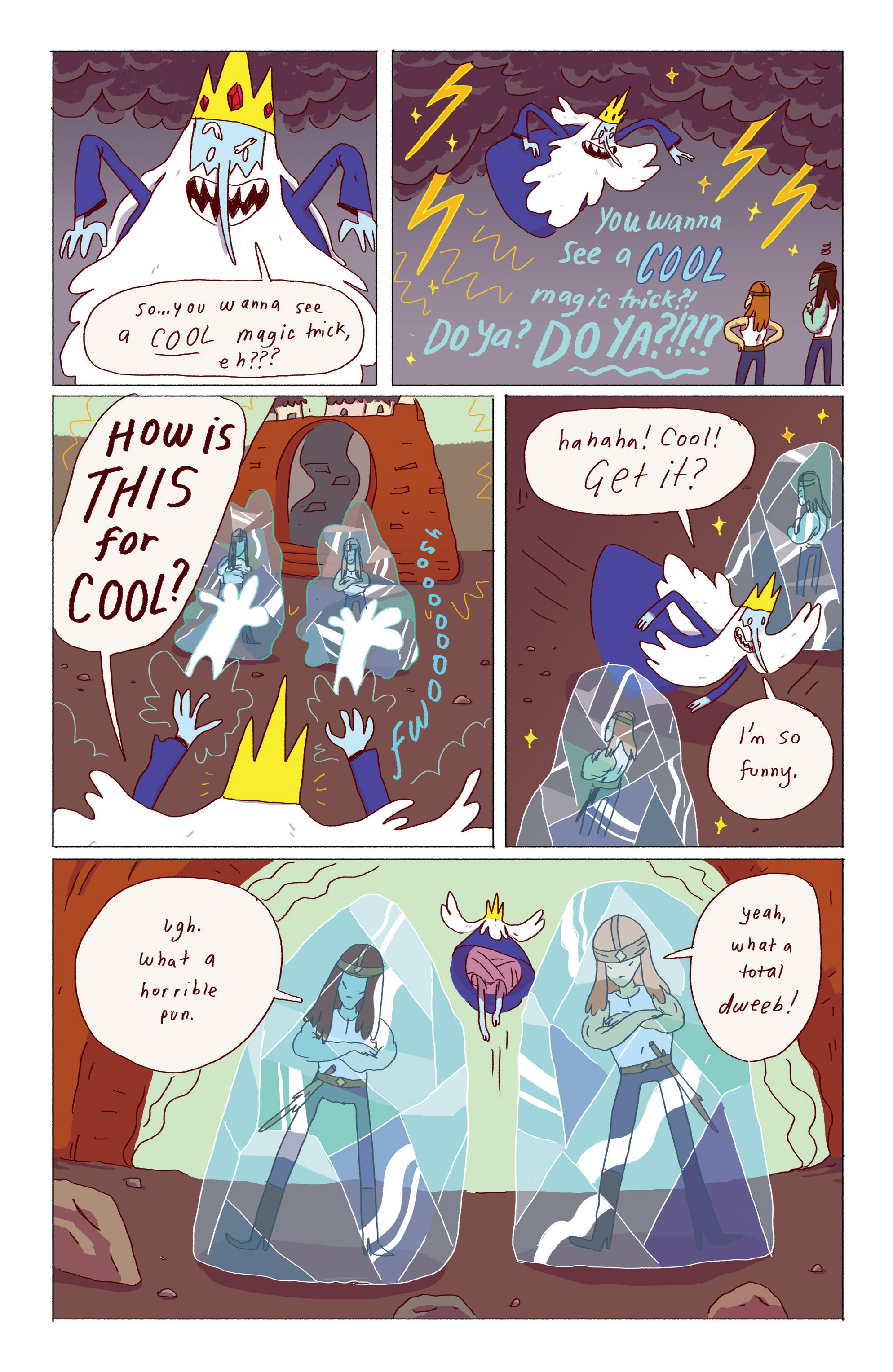 Read online Adventure Time: Ice King comic -  Issue #1 - 16