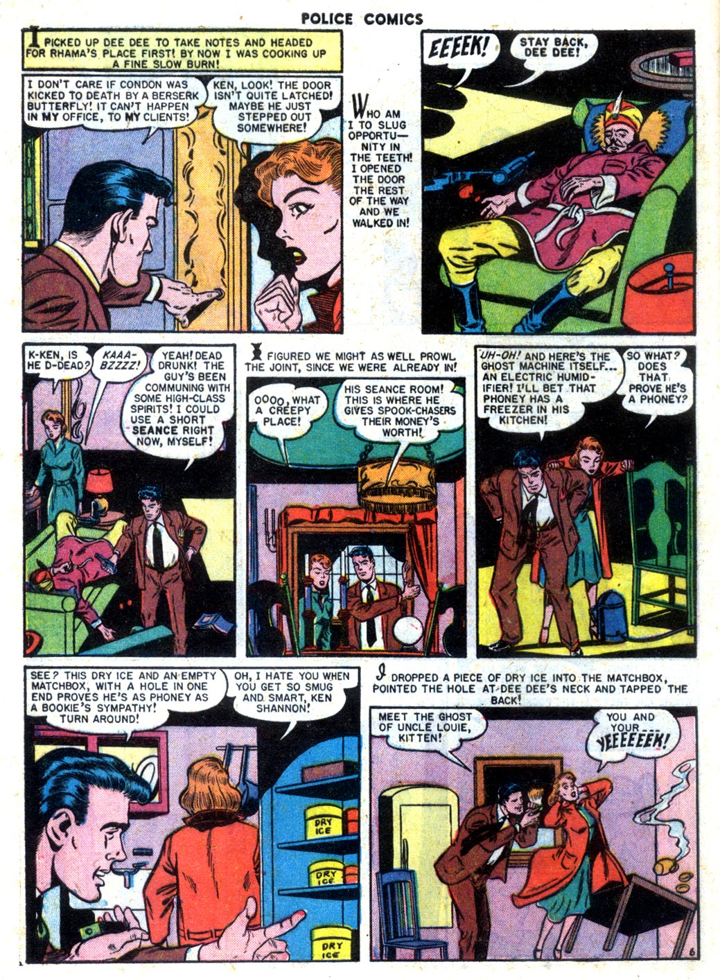 Police Comics issue 105 - Page 8