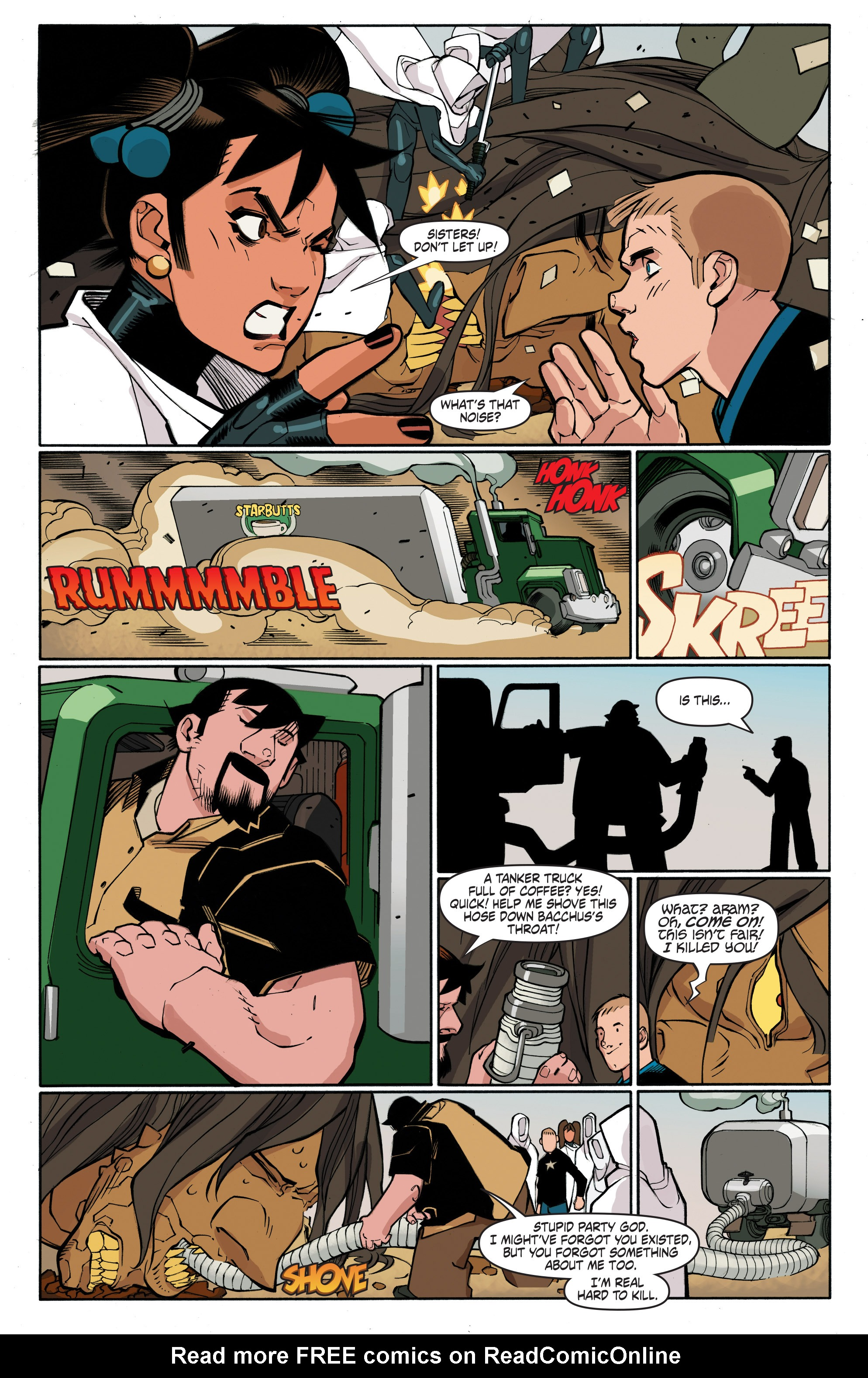 Read online A&A: The Adventures of Archer & Armstrong comic -  Issue #4 - 16