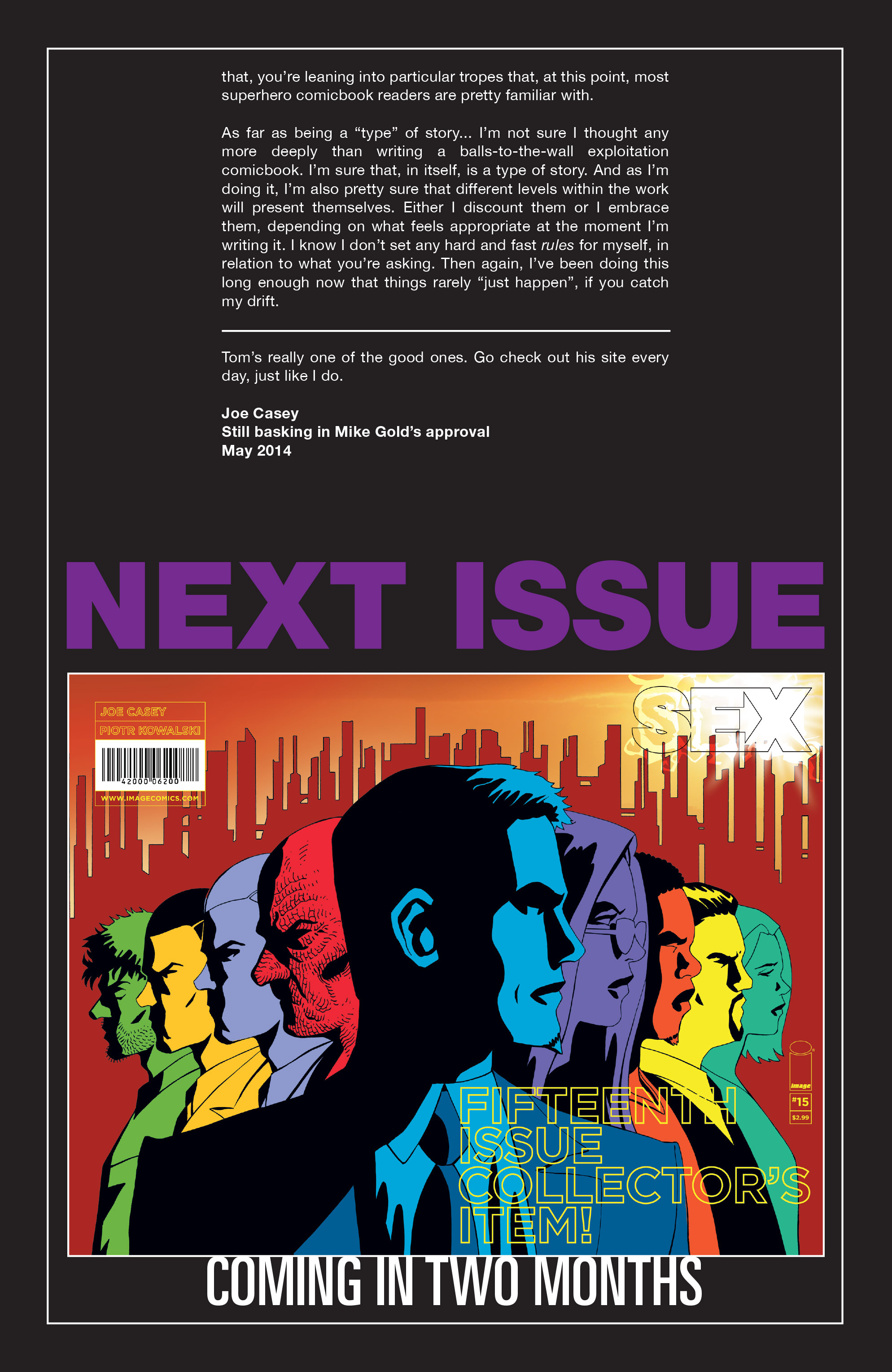 Read online Sex comic -  Issue #14 - 26