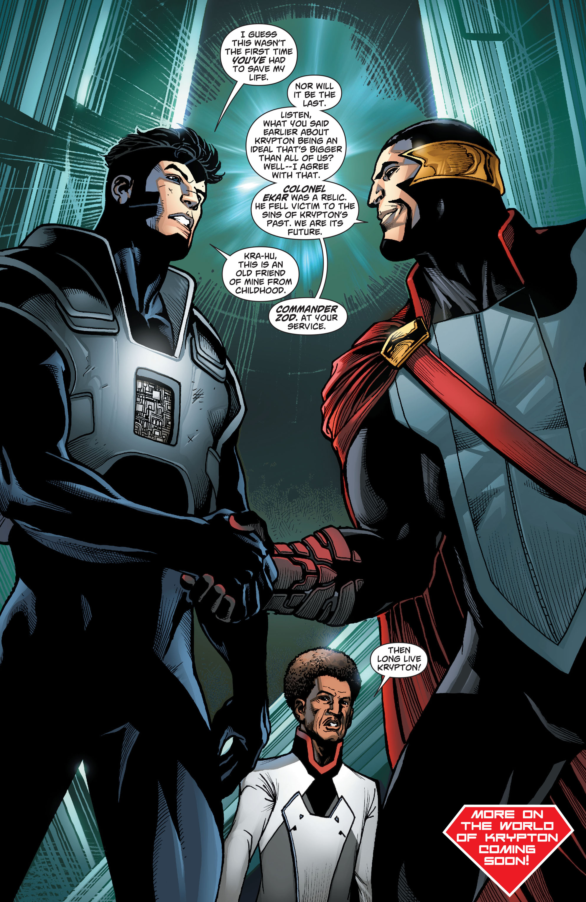 Read online Action Comics (2011) comic -  Issue #23 - 25