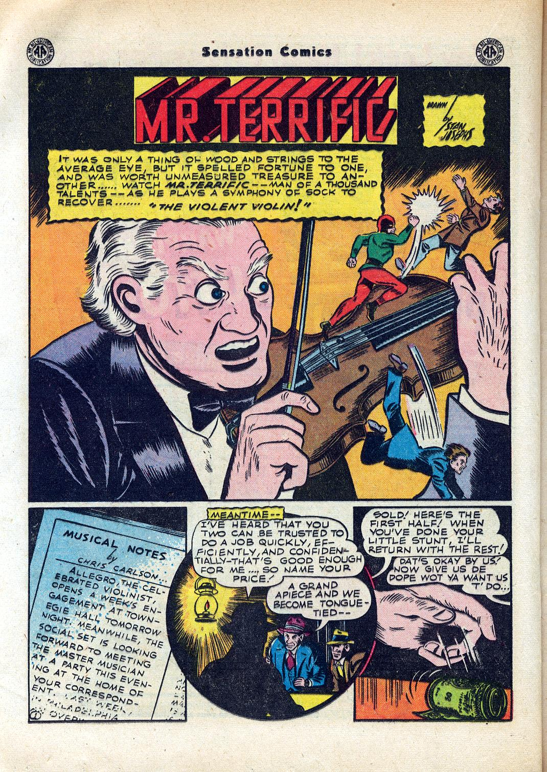 Read online Sensation (Mystery) Comics comic -  Issue #45 - 28