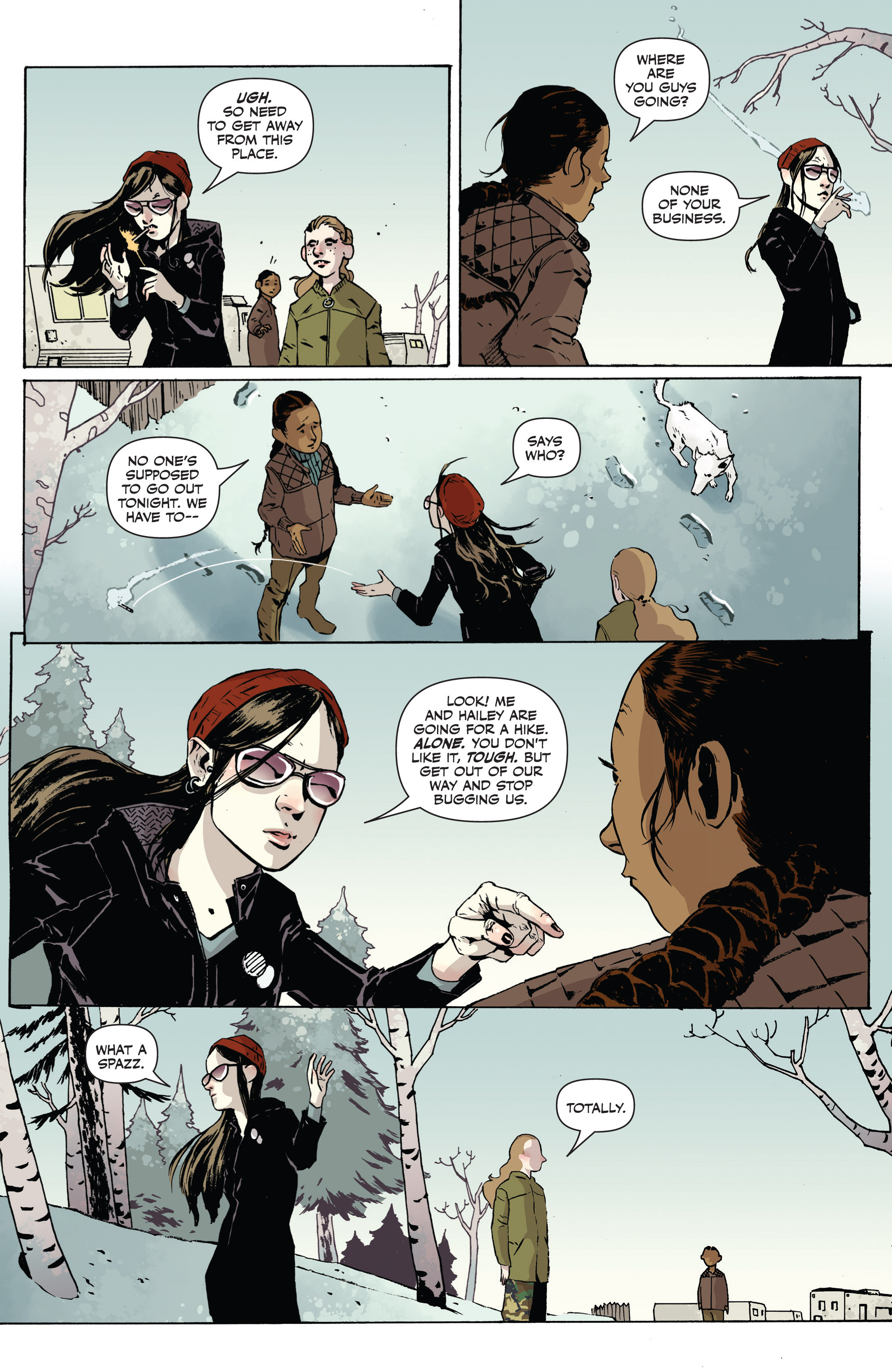 Read online Sheltered comic -  Issue #1 - 11