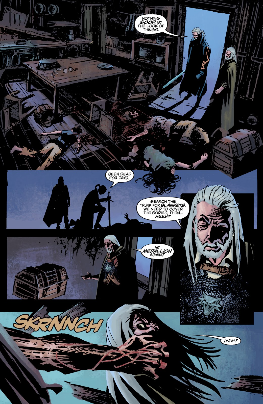 Read online The Witcher Omnibus comic -  Issue # TPB (Part 3) - 70