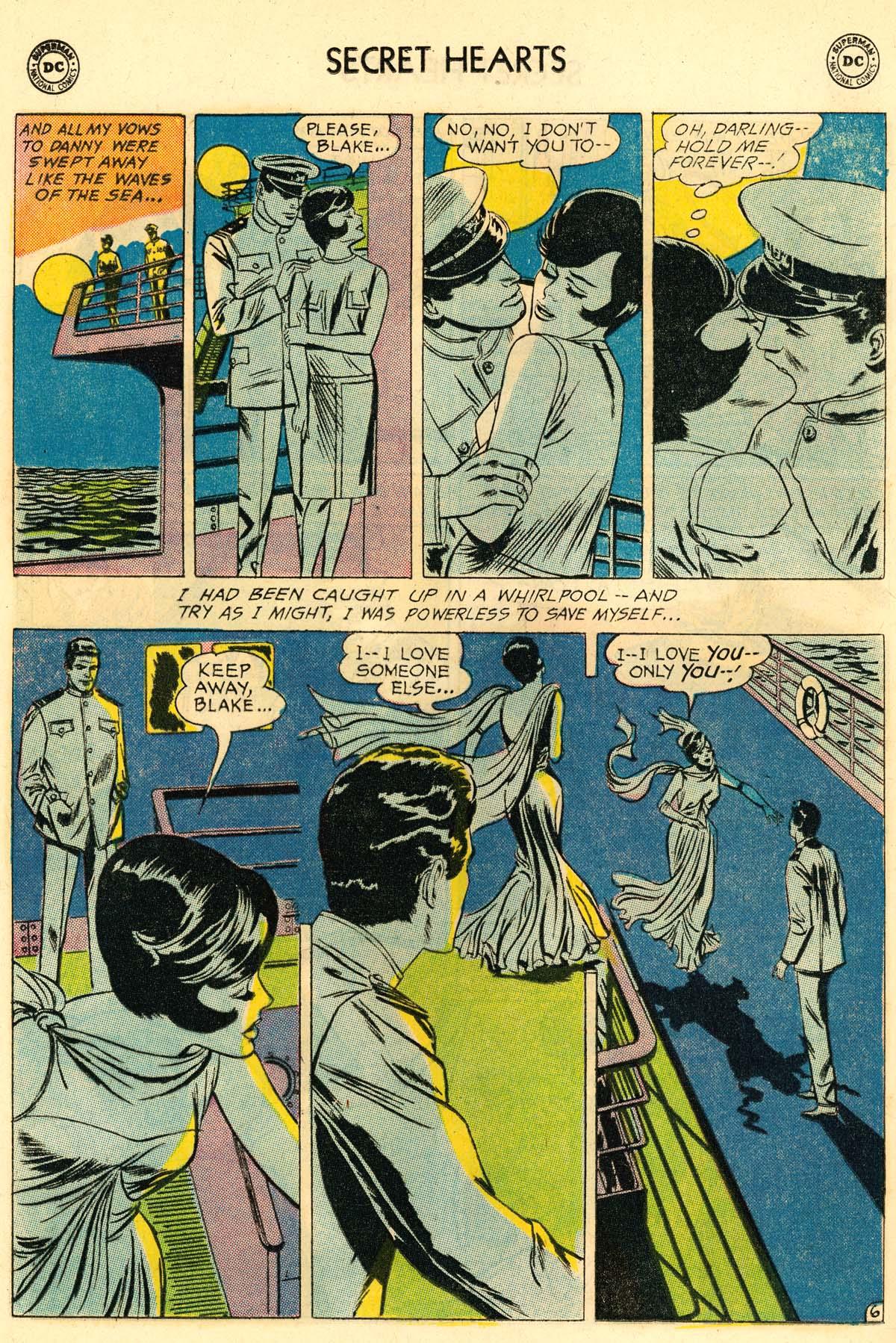 Read online Secret Hearts comic -  Issue #106 - 24