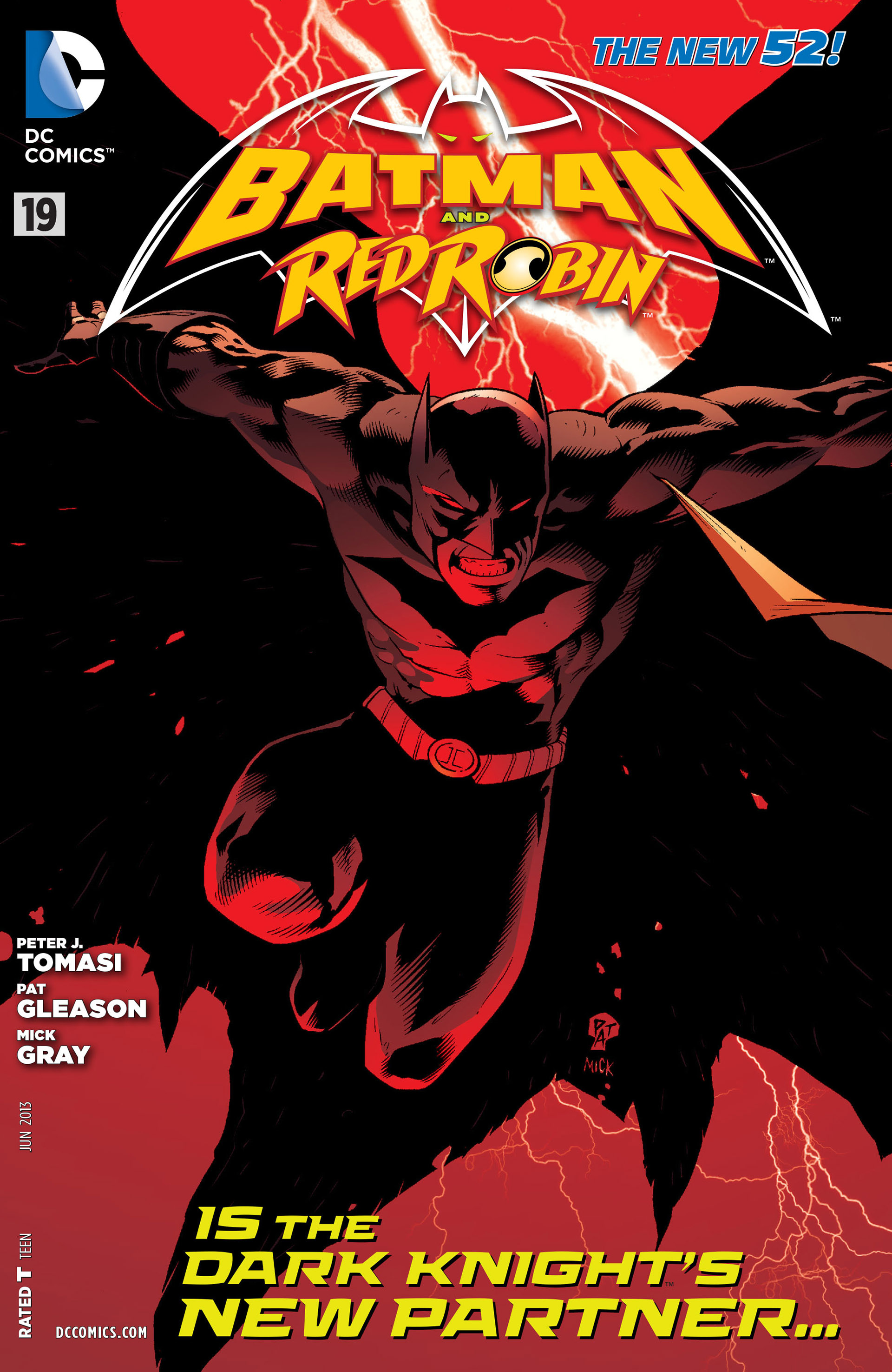 Read online Batman and Robin (2011) comic -  Issue #19 - 1