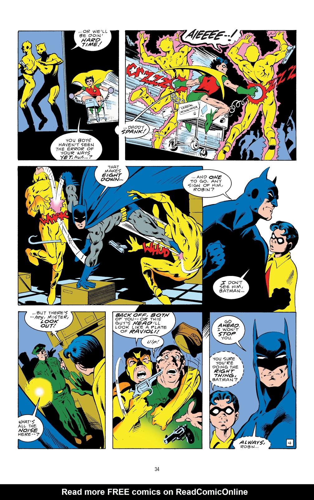 Read online Detective Comics (1937) comic -  Issue # _TPB Batman - The Dark Knight Detective 1 (Part 1) - 34
