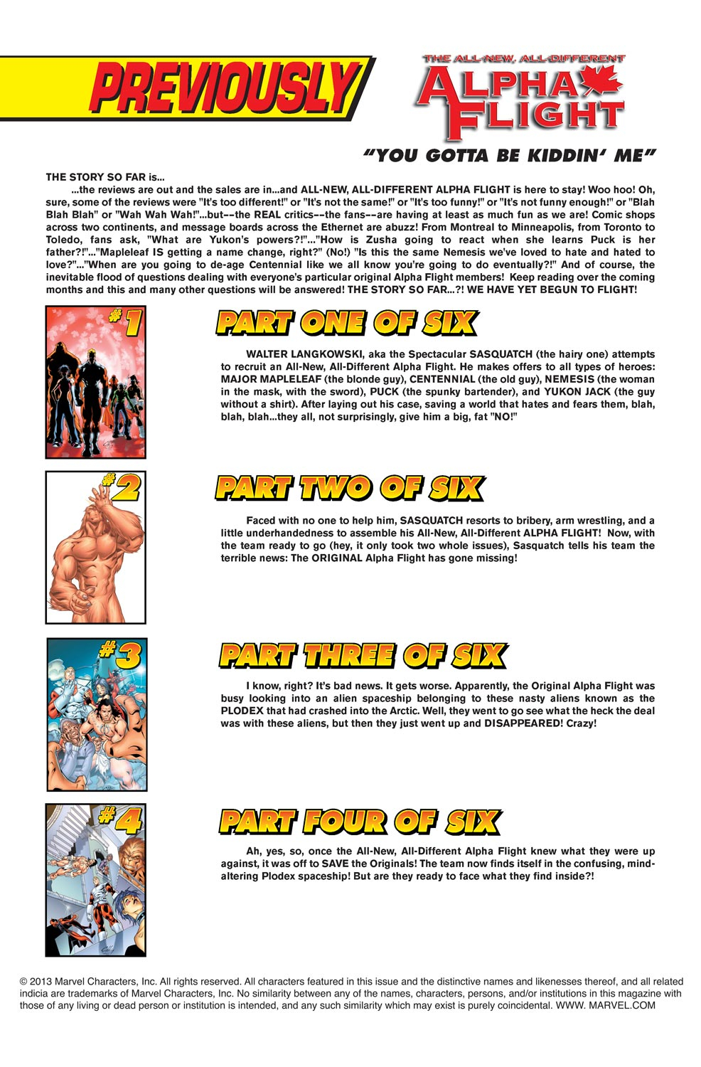 Alpha Flight (2004) issue 5 - Page 2